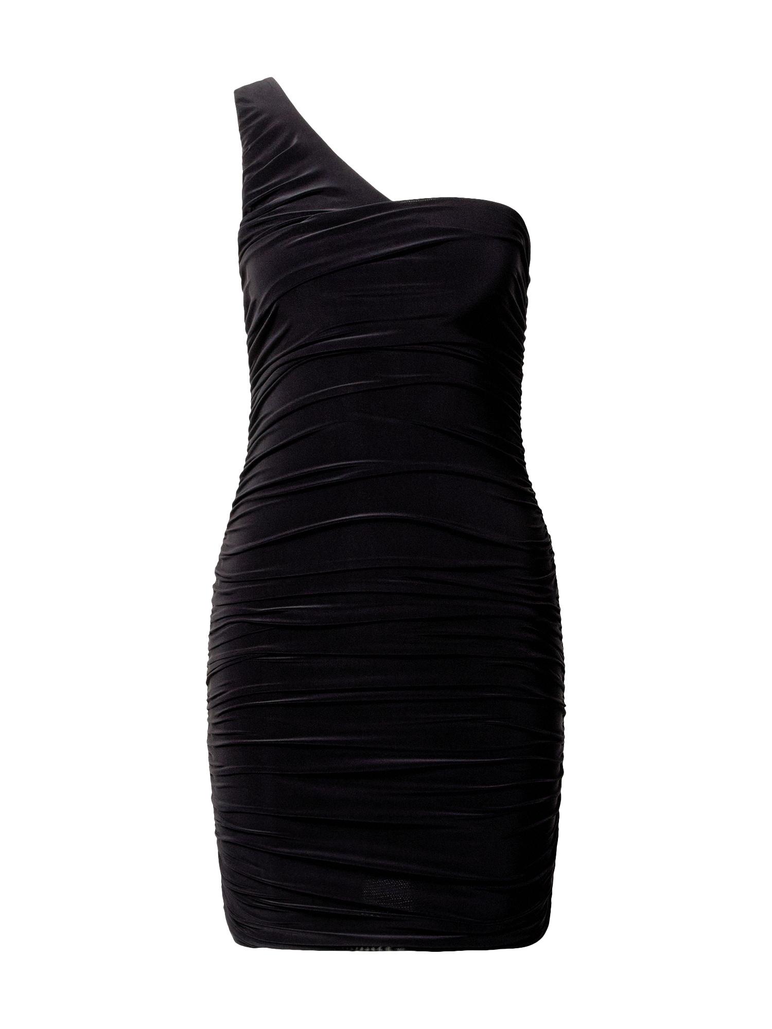 Missguided Kokteilinė suknelė juoda