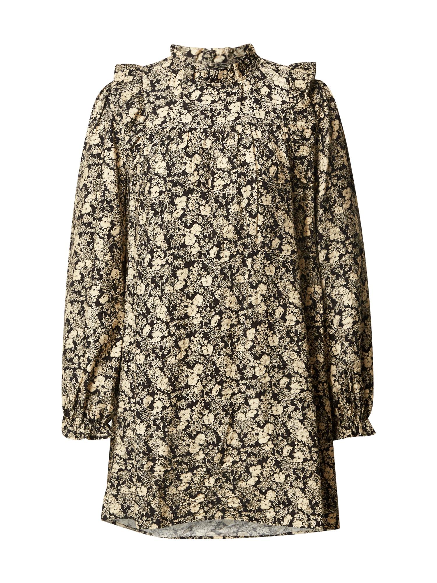 Envii Palaidinės tipo suknelė juoda / smėlio
