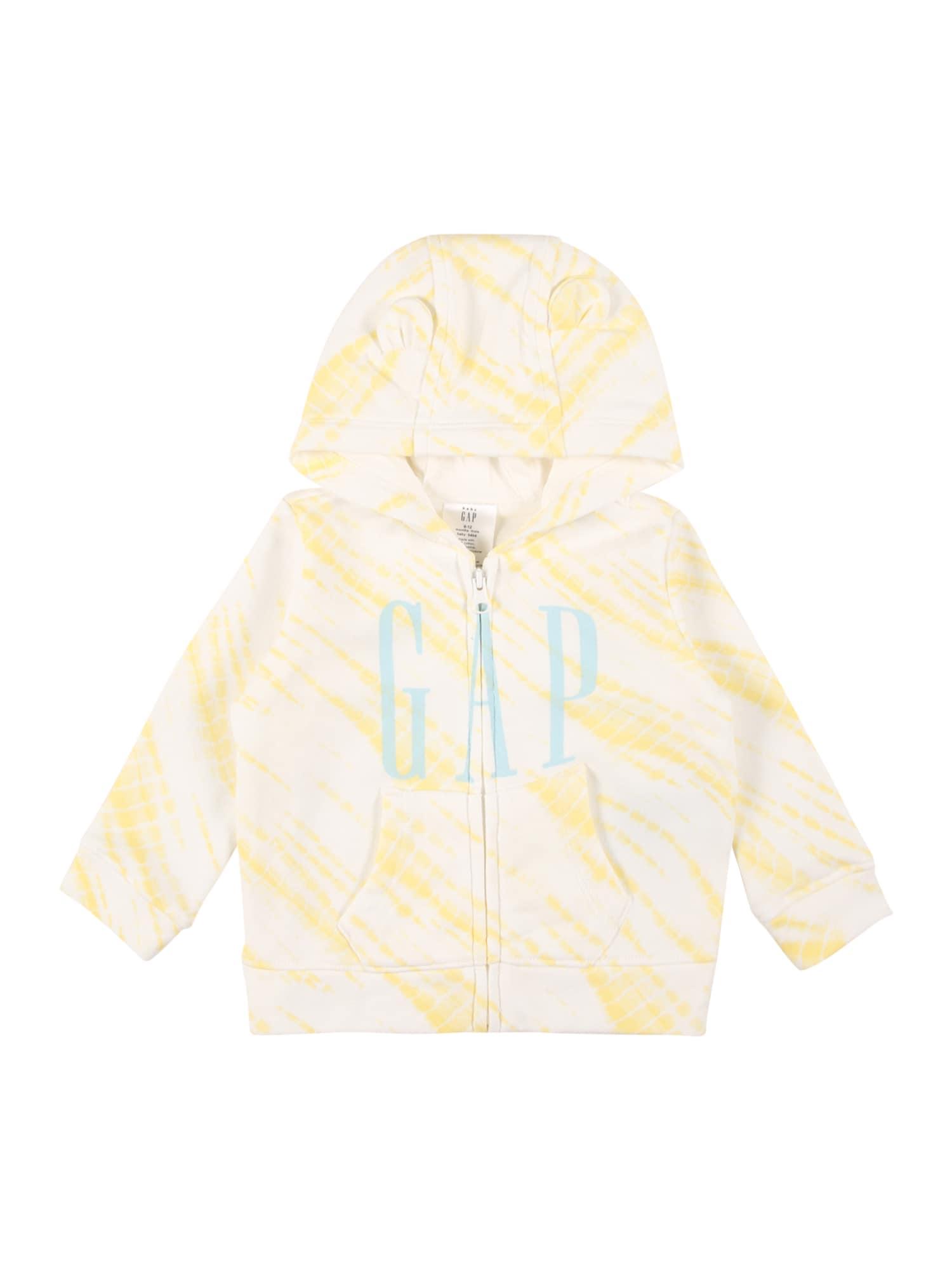 GAP Džemperis balta / geltona / šviesiai mėlyna