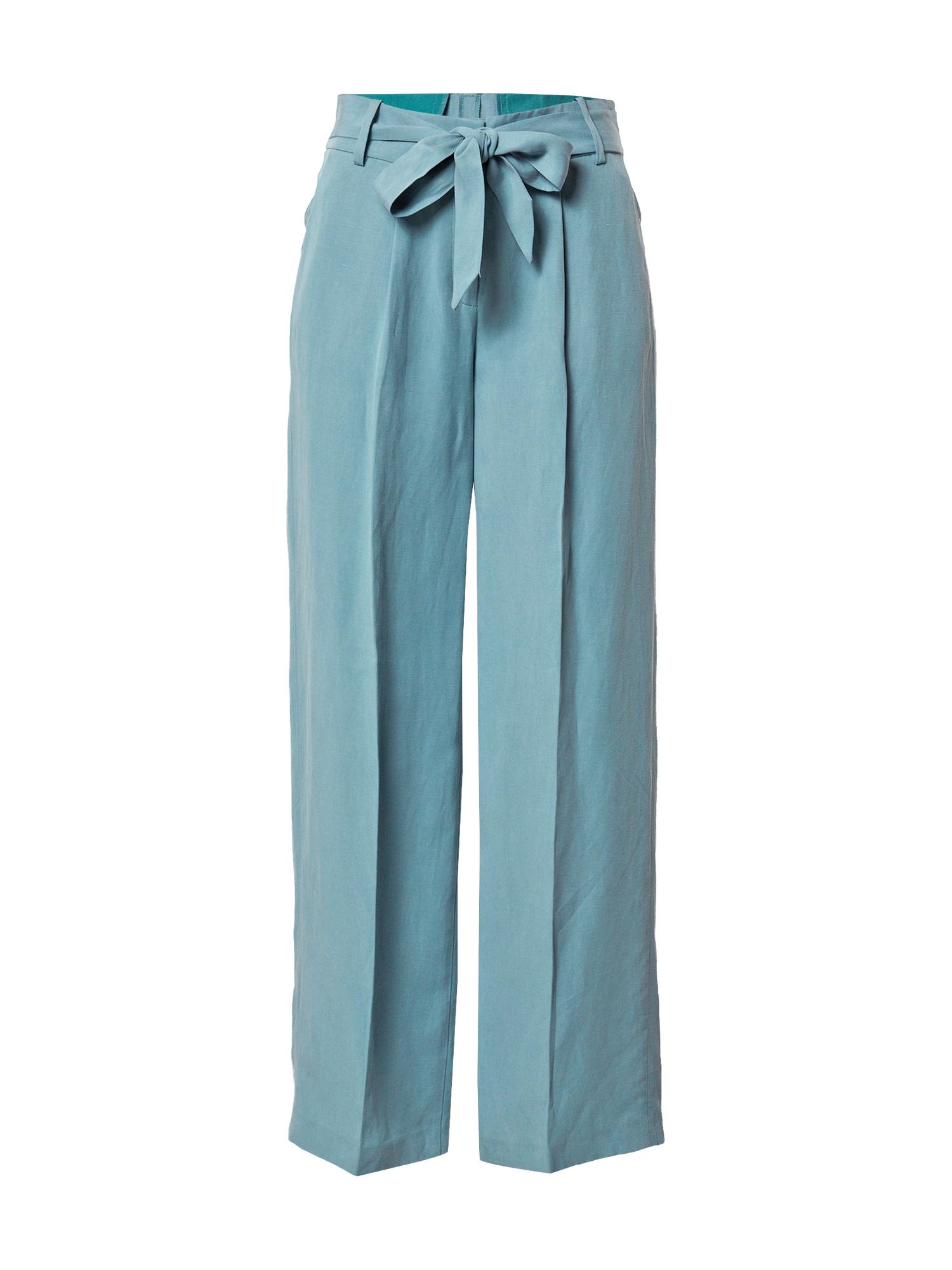 Esprit Collection Klostuotos kelnės šviesiai mėlyna