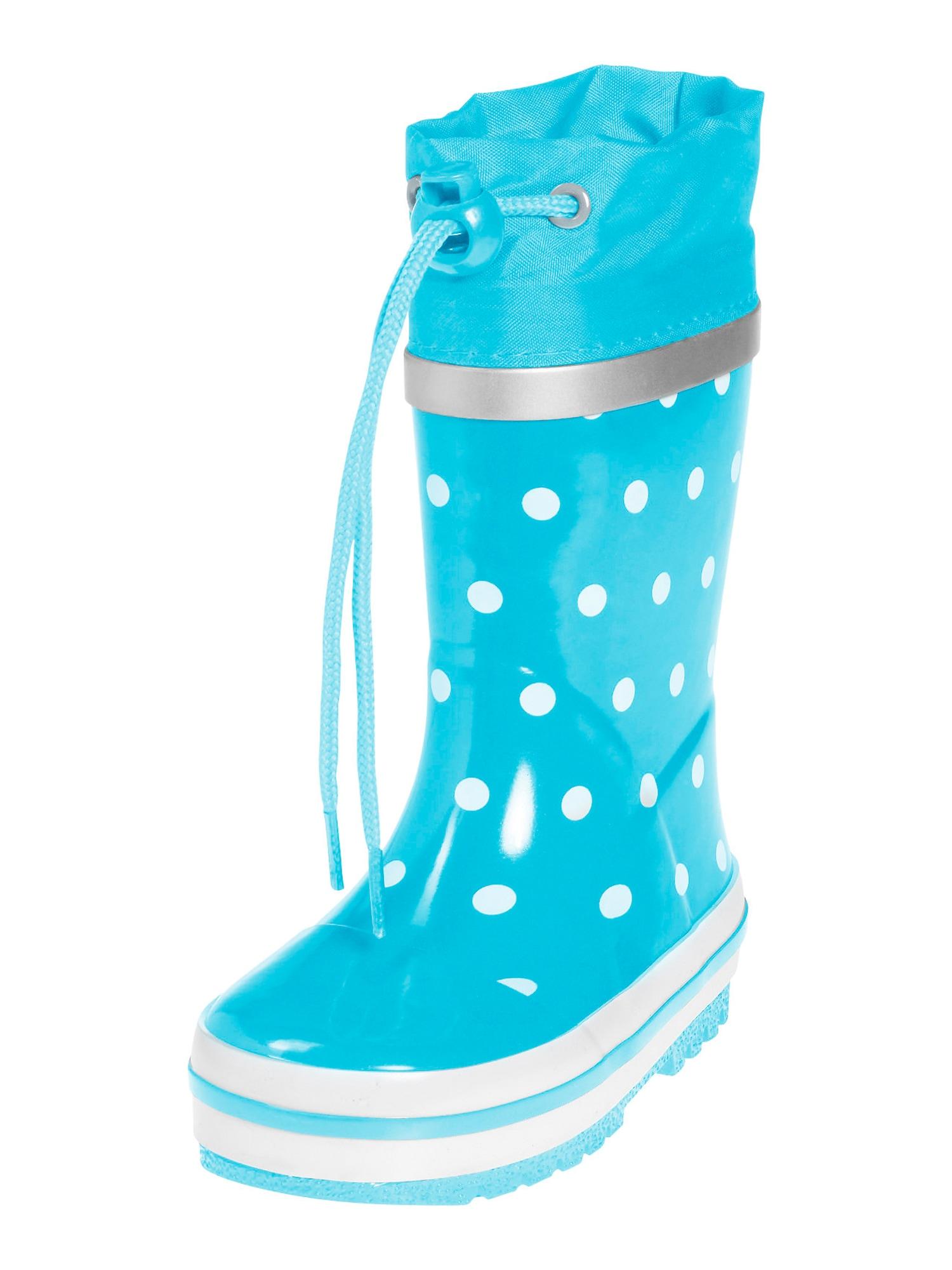 PLAYSHOES Guminiai batai turkio spalva / balta
