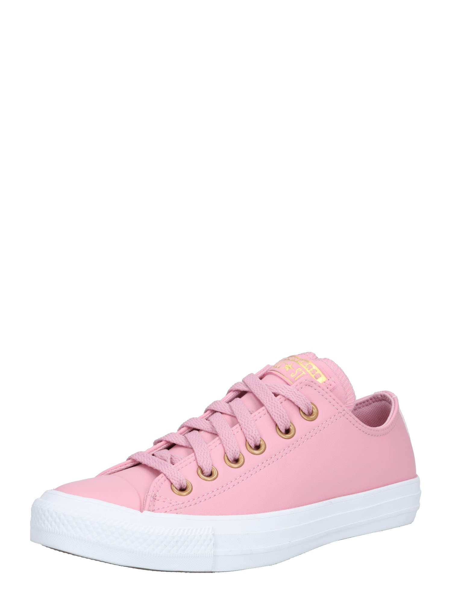 CONVERSE Tenisky 'CTAS OX'  bílá / pink / zlatá