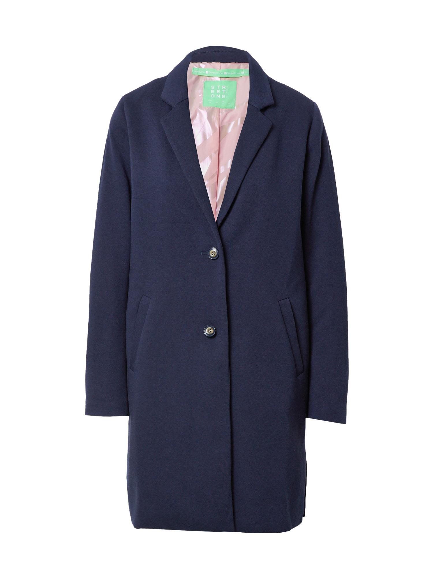 STREET ONE Demisezoninis paltas tamsiai mėlyna