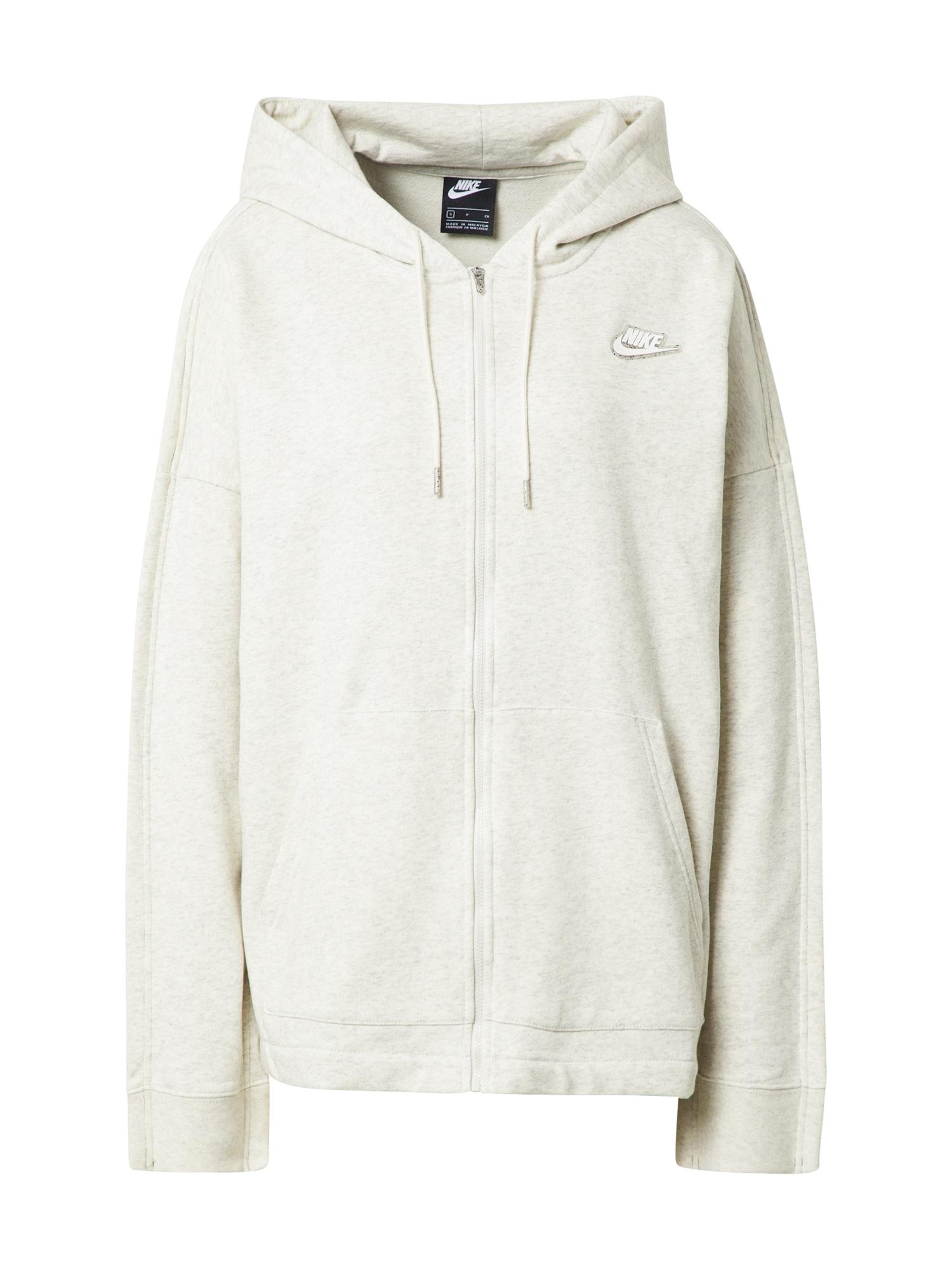 Nike Sportswear Džemperis margai balta