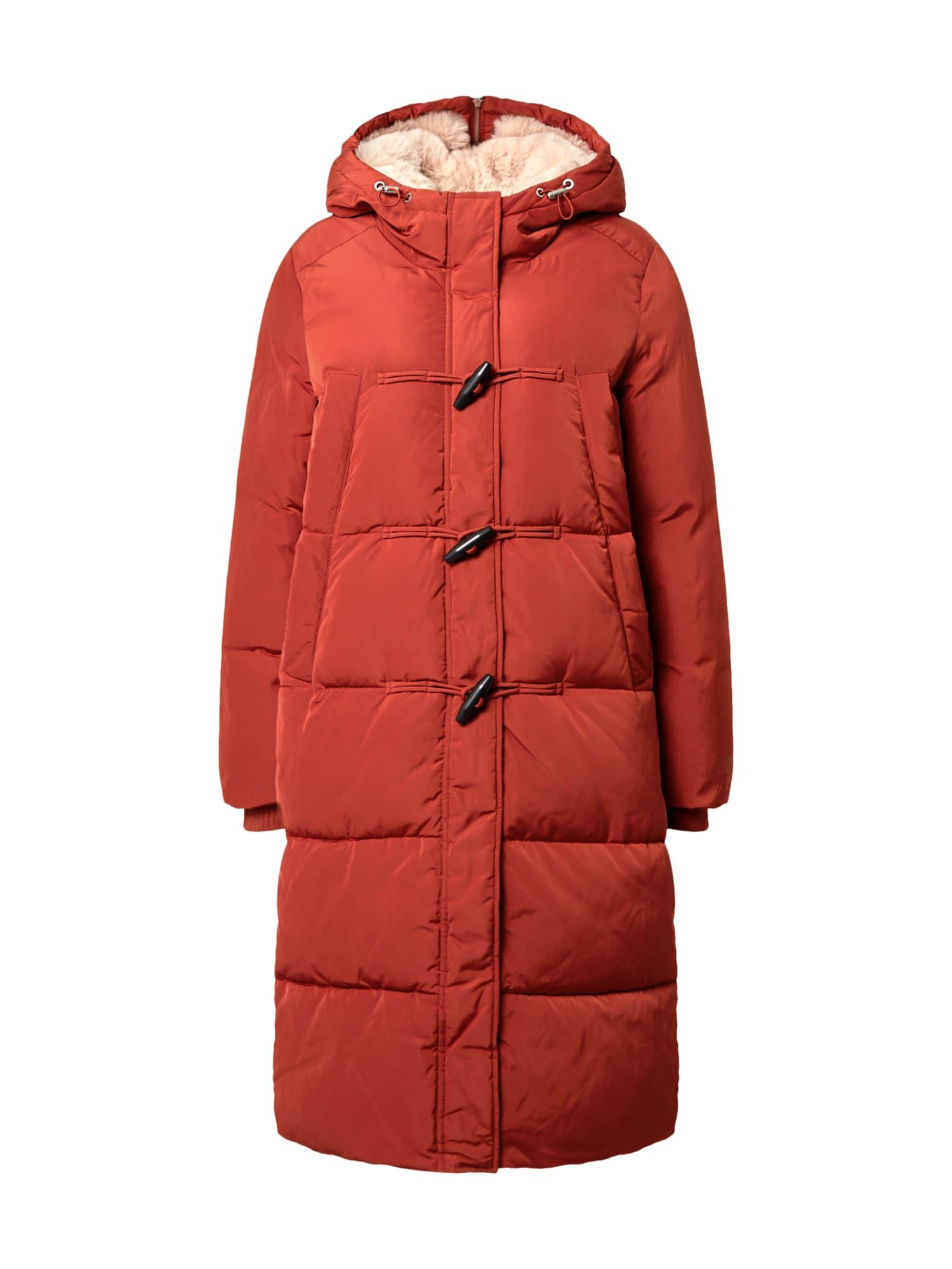 s.Oliver Zimní kabát  tmavě oranžová