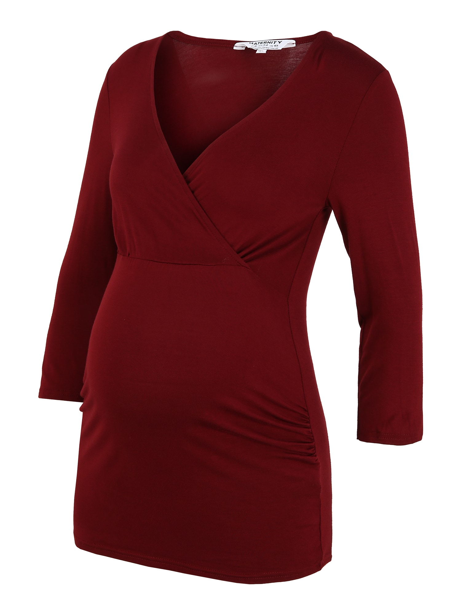 Dorothy Perkins Maternity Marškinėliai vyno raudona spalva