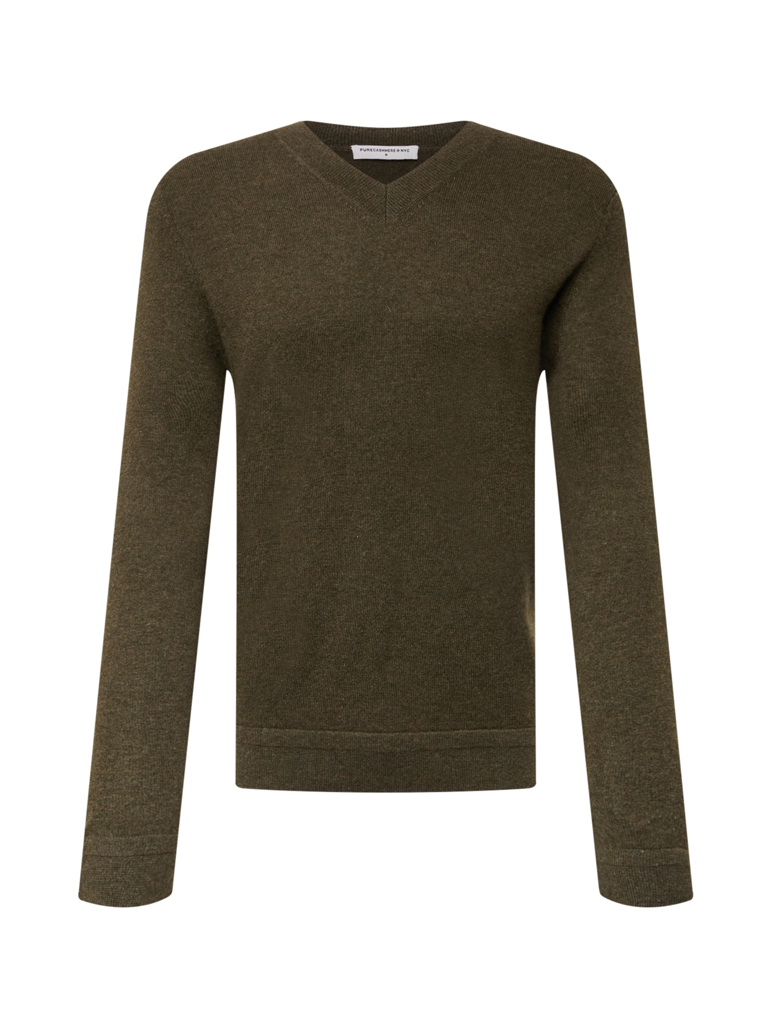 Pure Cashmere NYC Megztinis tamsiai žalia
