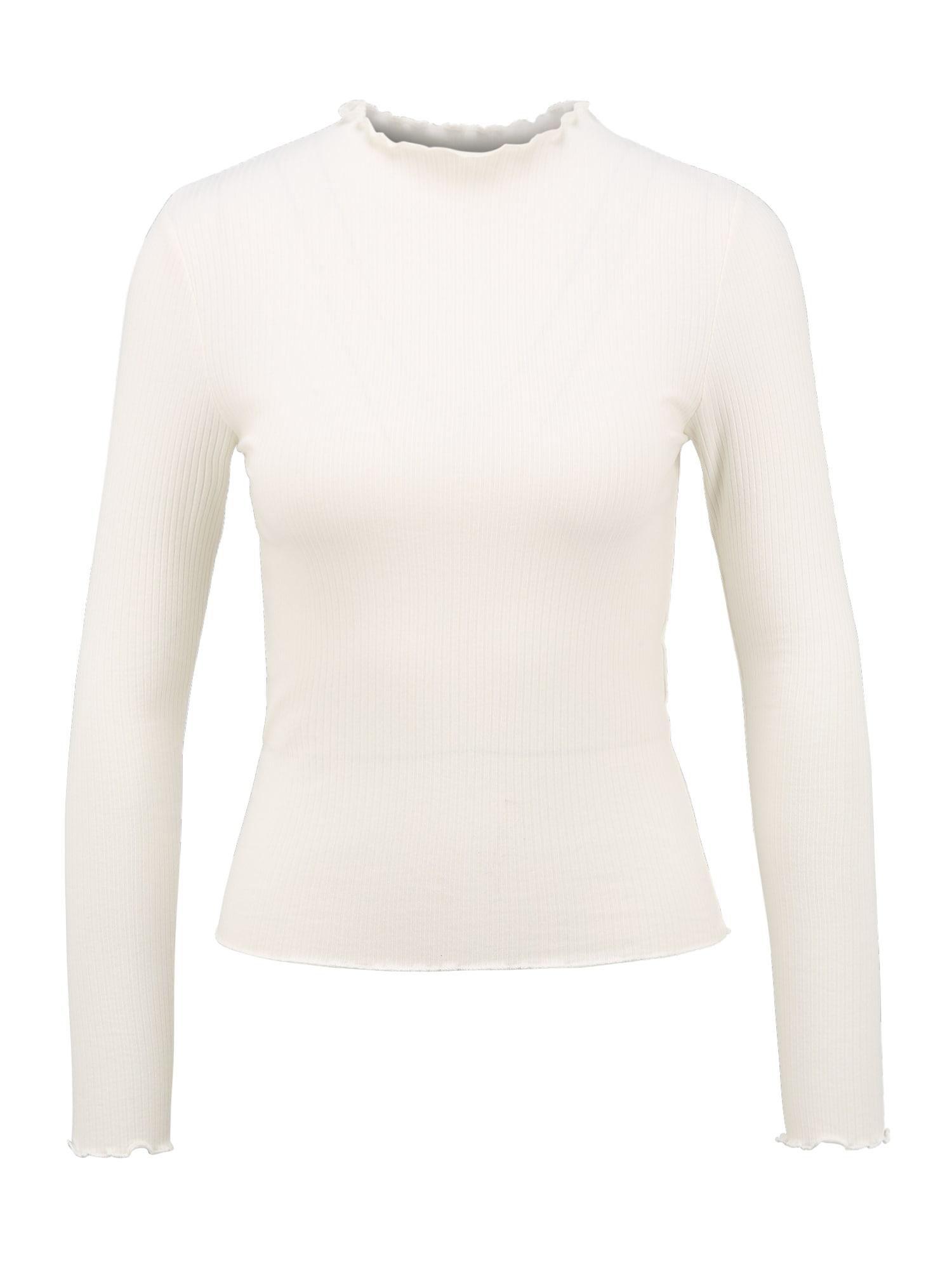Pieces (Petite) Marškinėliai natūrali balta