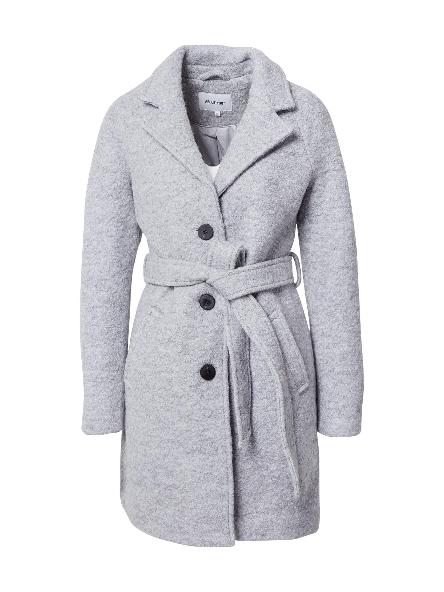 ABOUT YOU Demisezoninis paltas šviesiai pilka