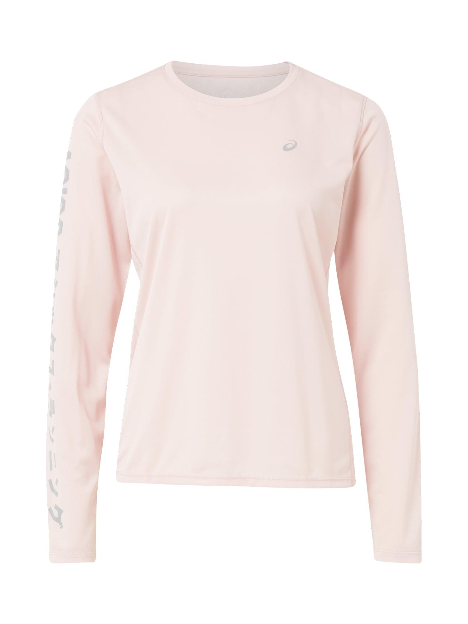 ASICS Sportiniai marškinėliai 'Katakana ' rožių spalva