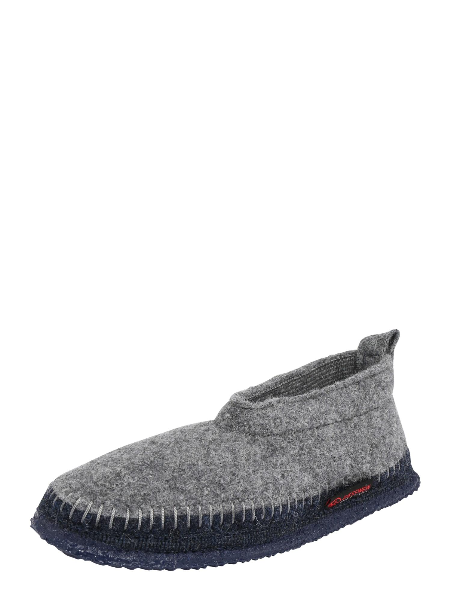 GIESSWEIN Pantofle 'Tegernau'  šedá