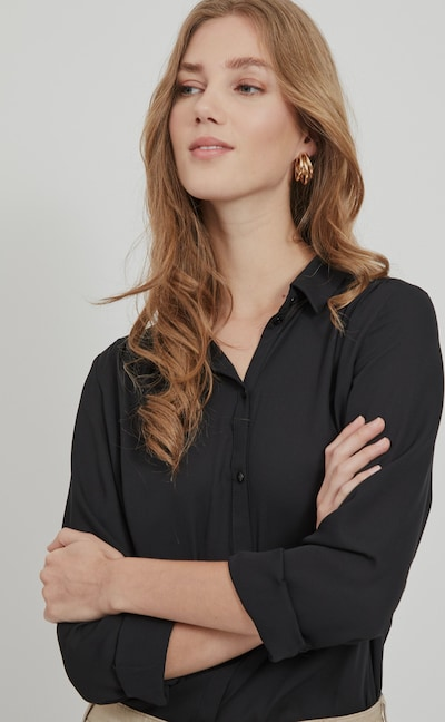 Vila Lucy Long Sleeve Button Shirt