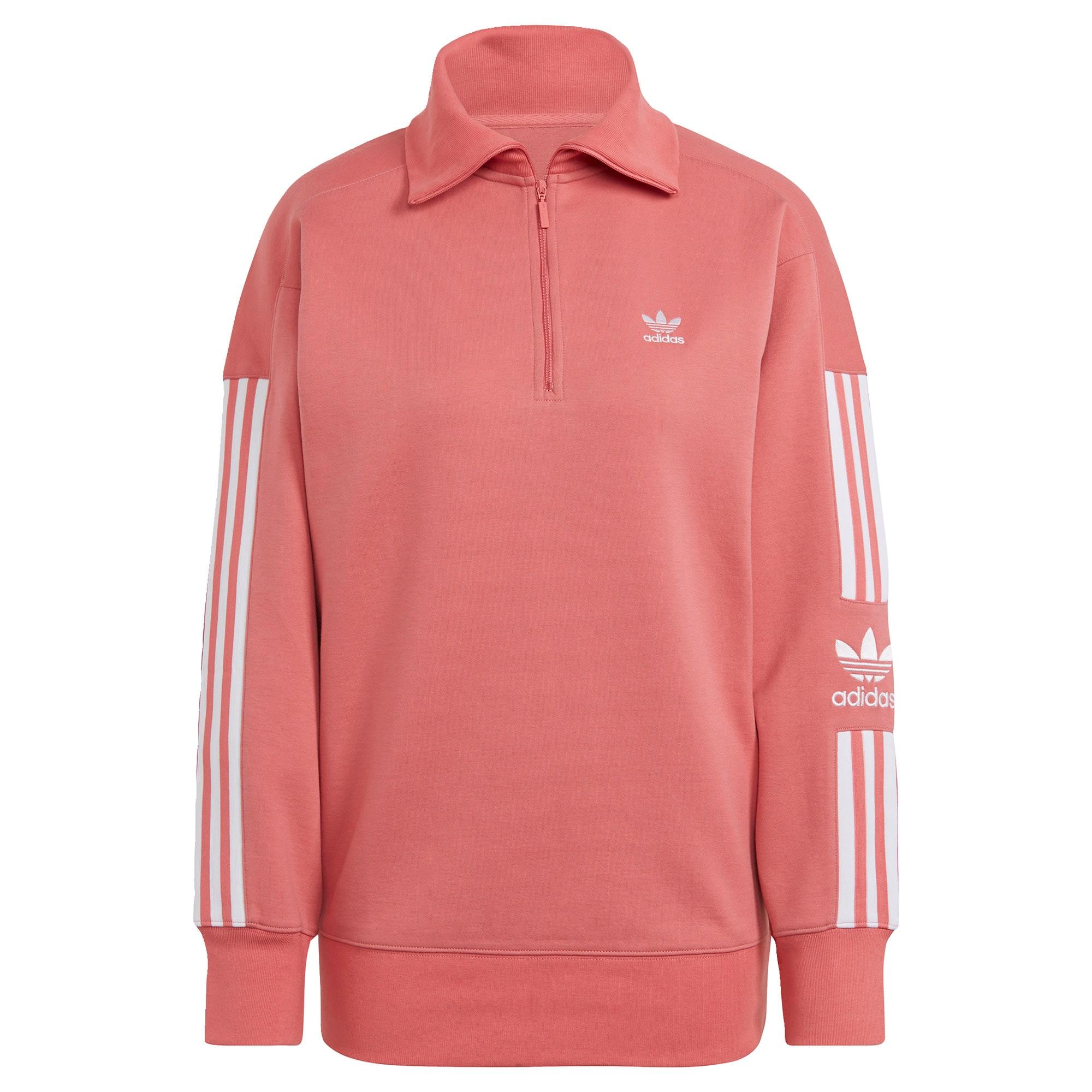 ADIDAS ORIGINALS Džemperis balta / šviesiai rožinė