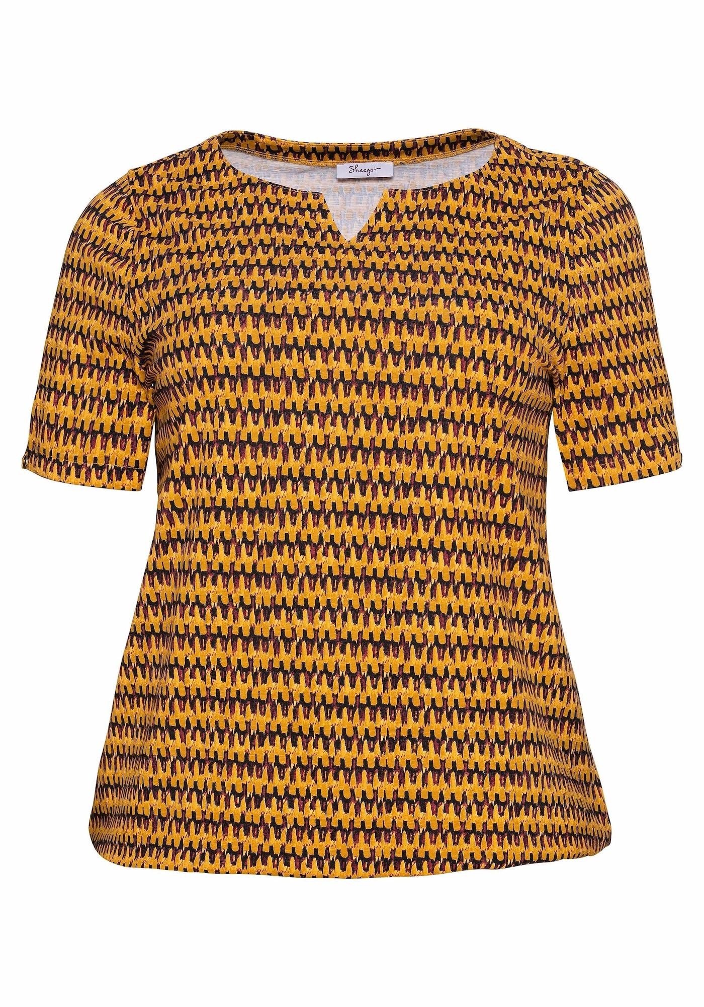 SHEEGO Marškinėliai kario spalva