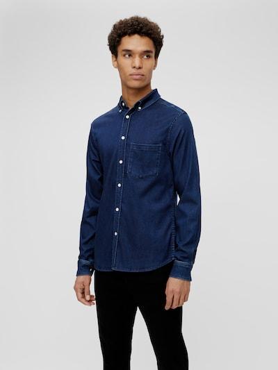 Indigo Soft Stretch Slim Shirt