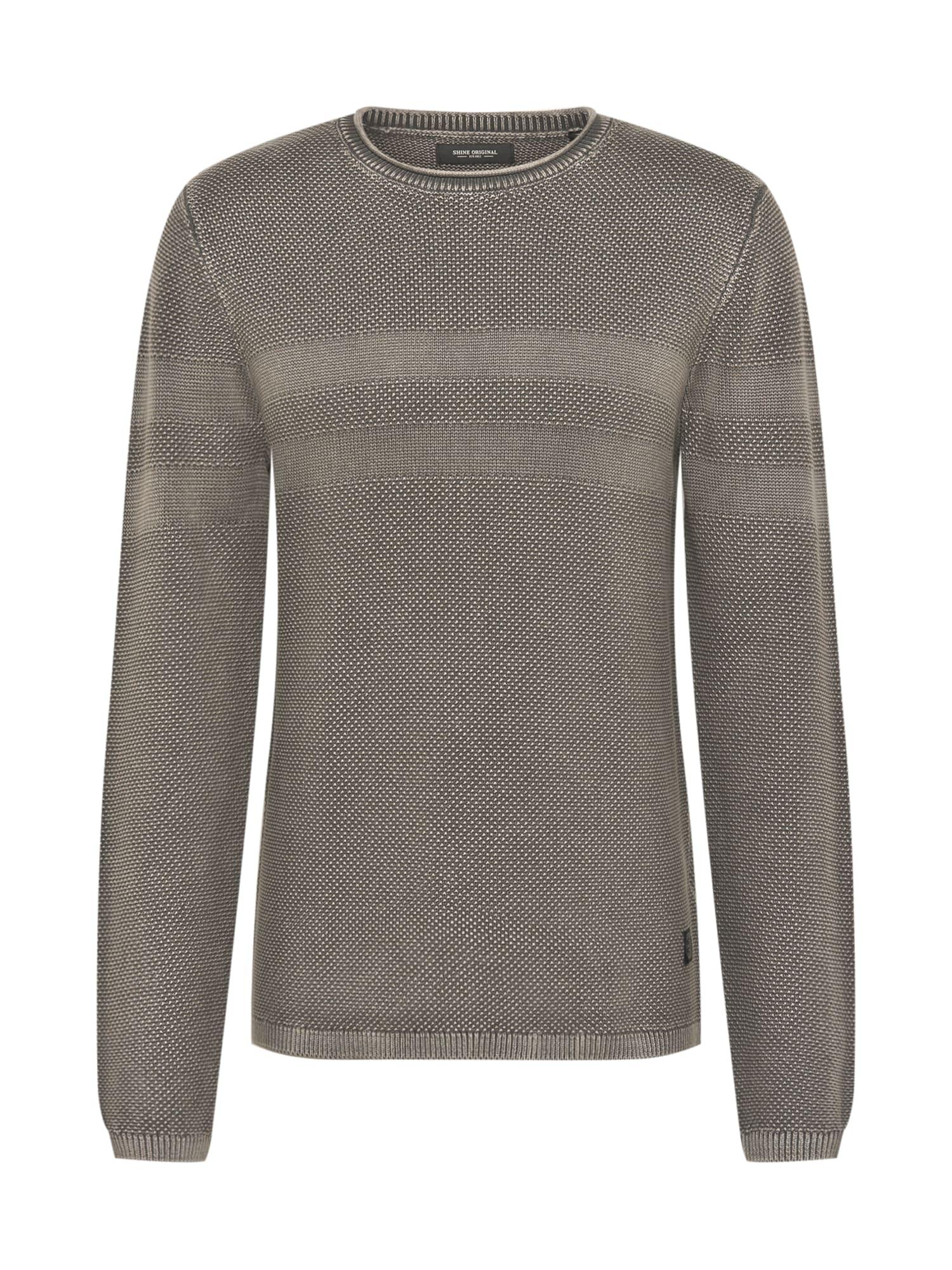 SHINE ORIGINAL Megztinis pilka