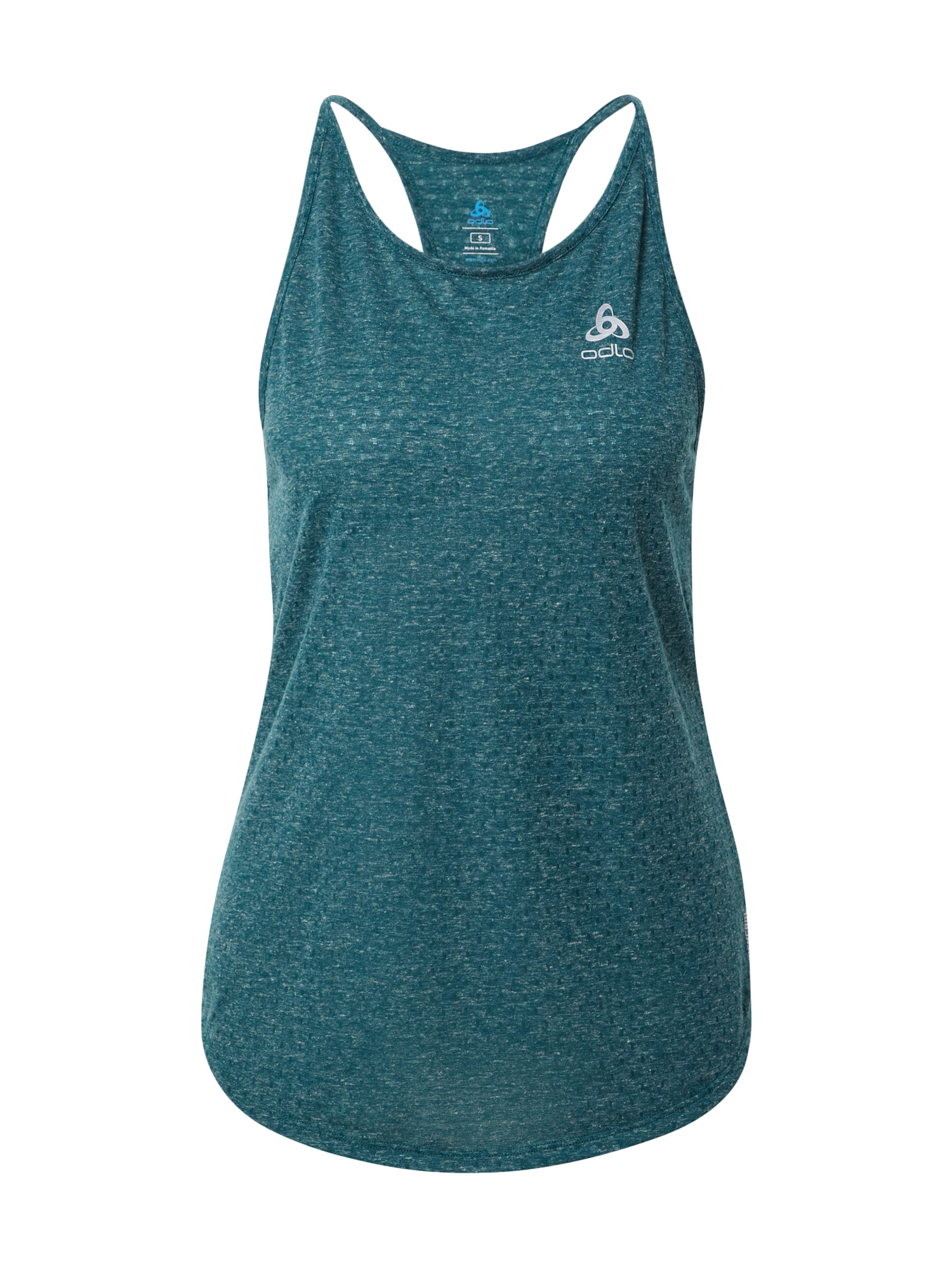 ODLO Sportiniai marškinėliai be rankovių benzino spalva