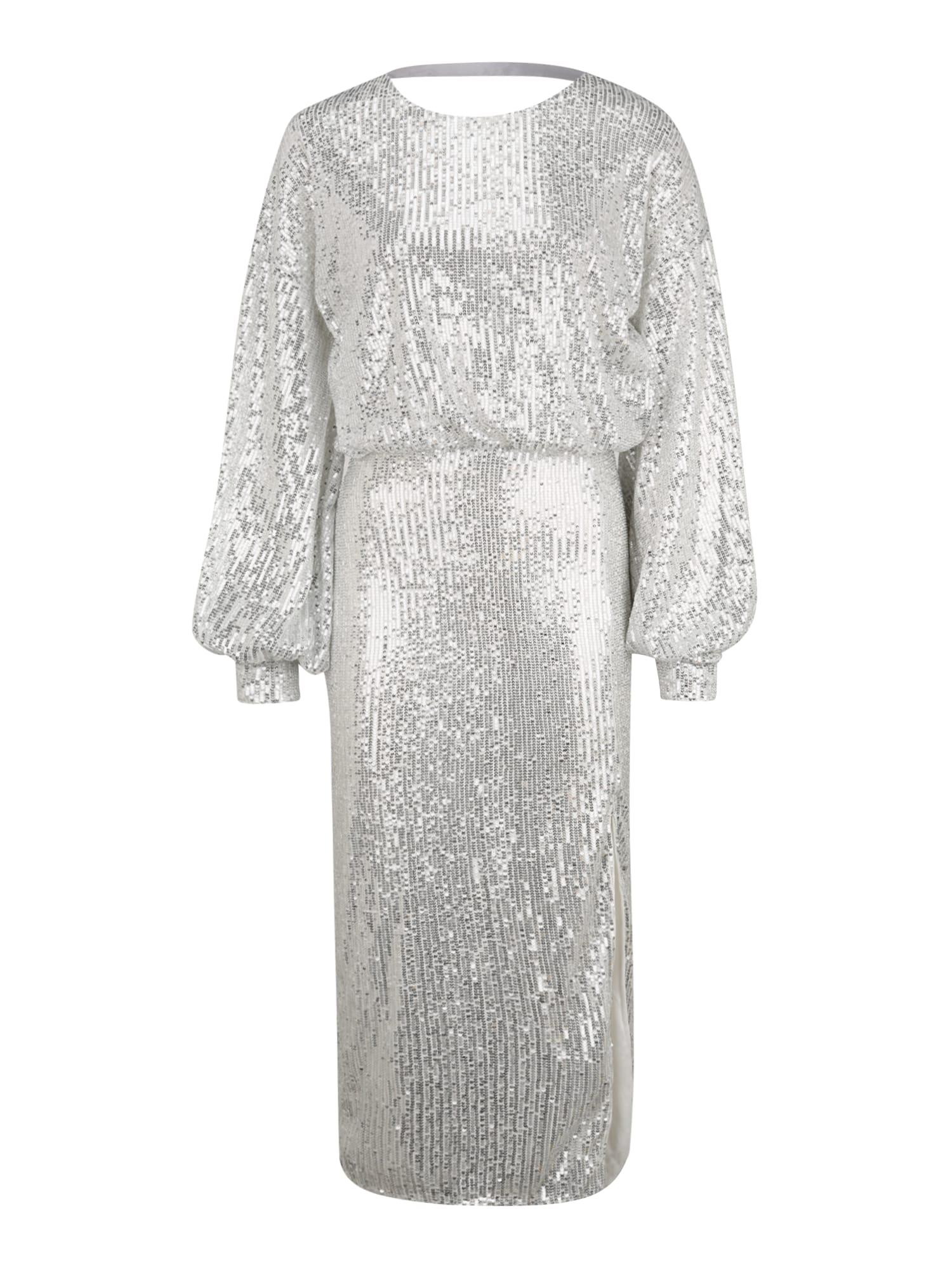 Missguided (Tall) Suknelė sidabrinė