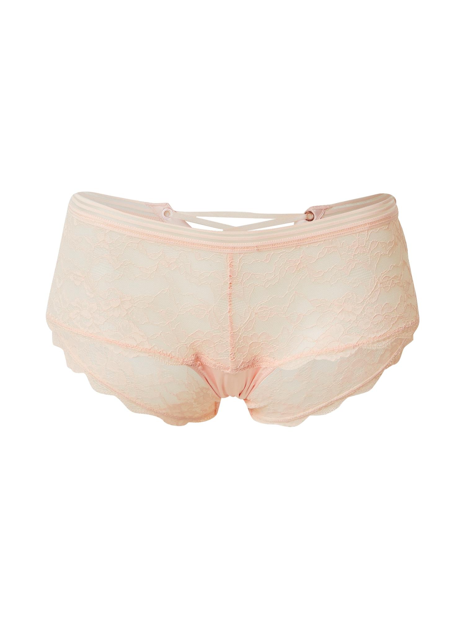 LingaDore Kelnaitės paaukštintu liemeniu šviesiai rožinė