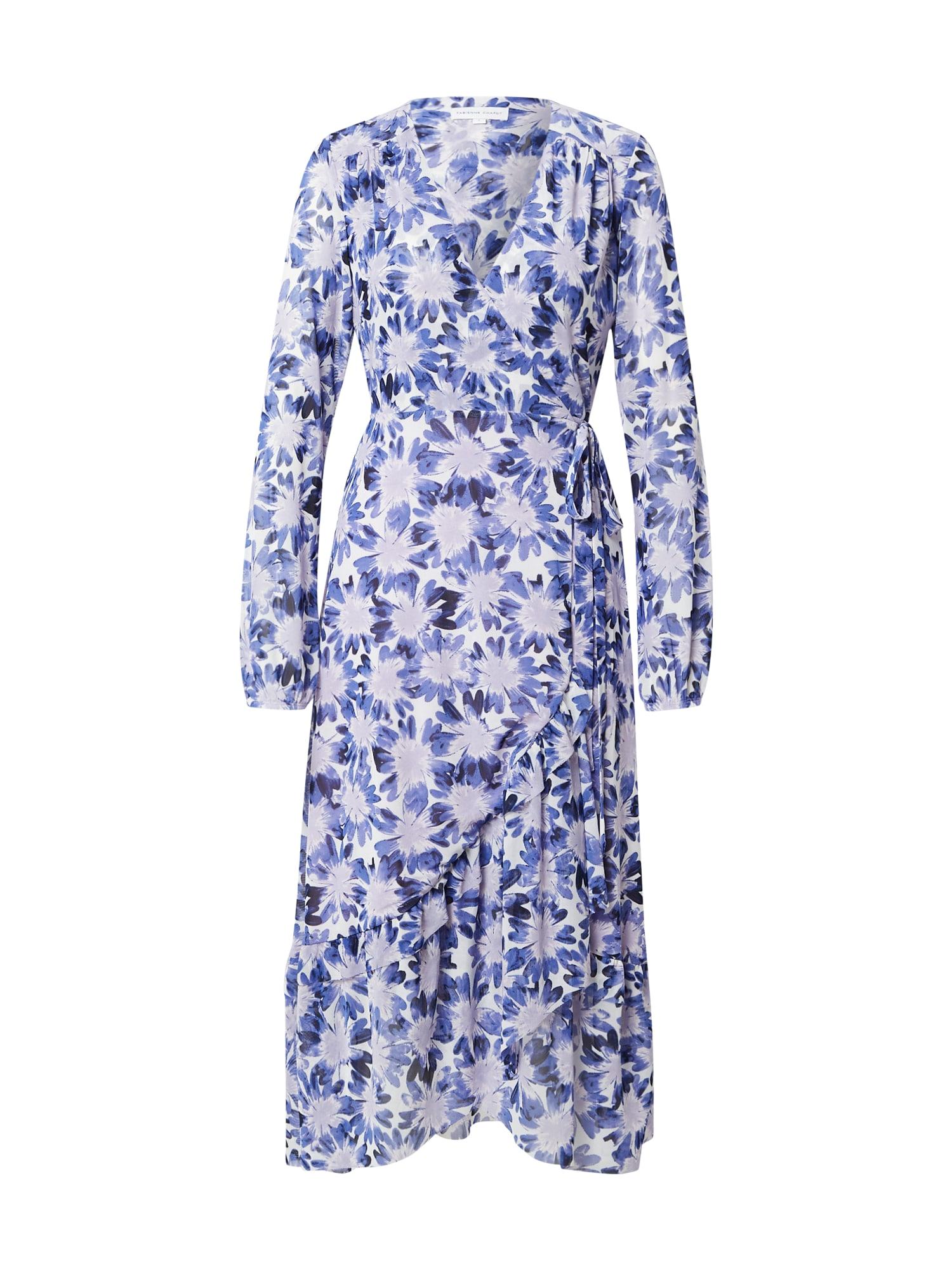 Fabienne Chapot Šaty 'Natasja'  krémová / modrá