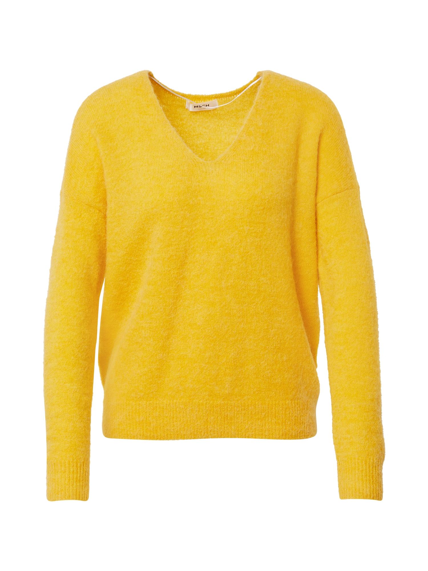 MOSS COPENHAGEN Megztinis geltona