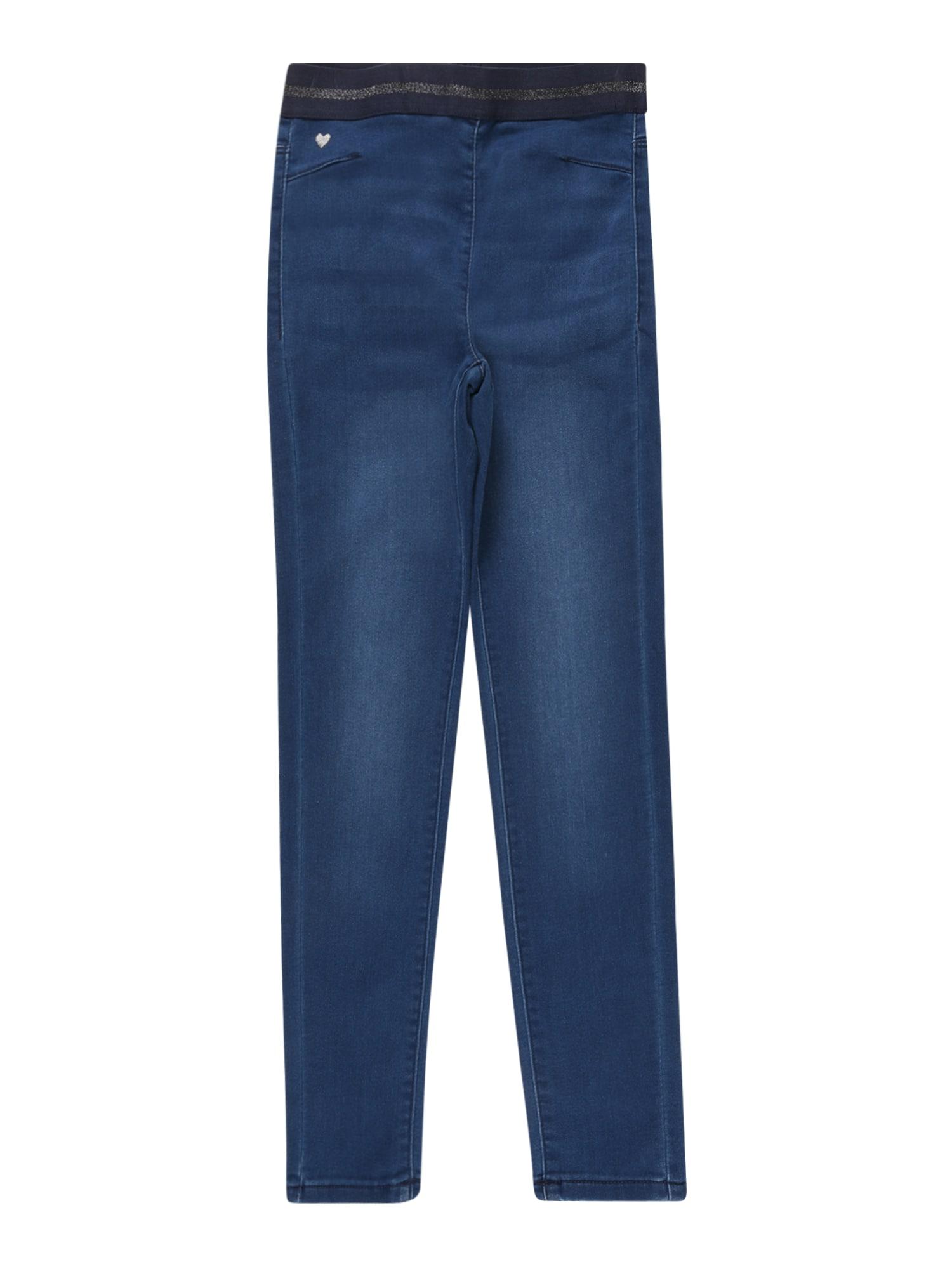 OVS Džinsai tamsiai (džinso) mėlyna / juoda