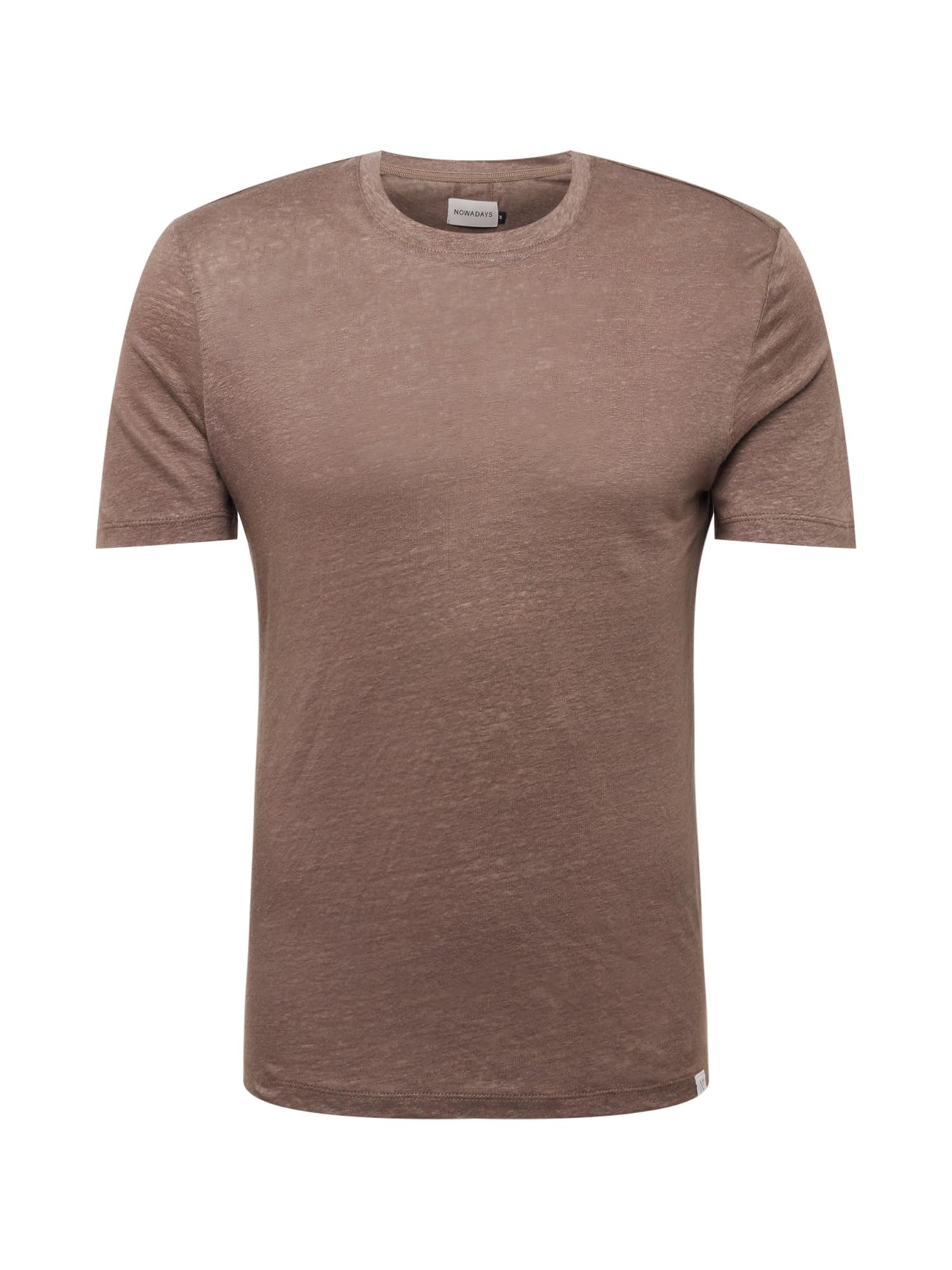 NOWADAYS Marškinėliai mokos spalva
