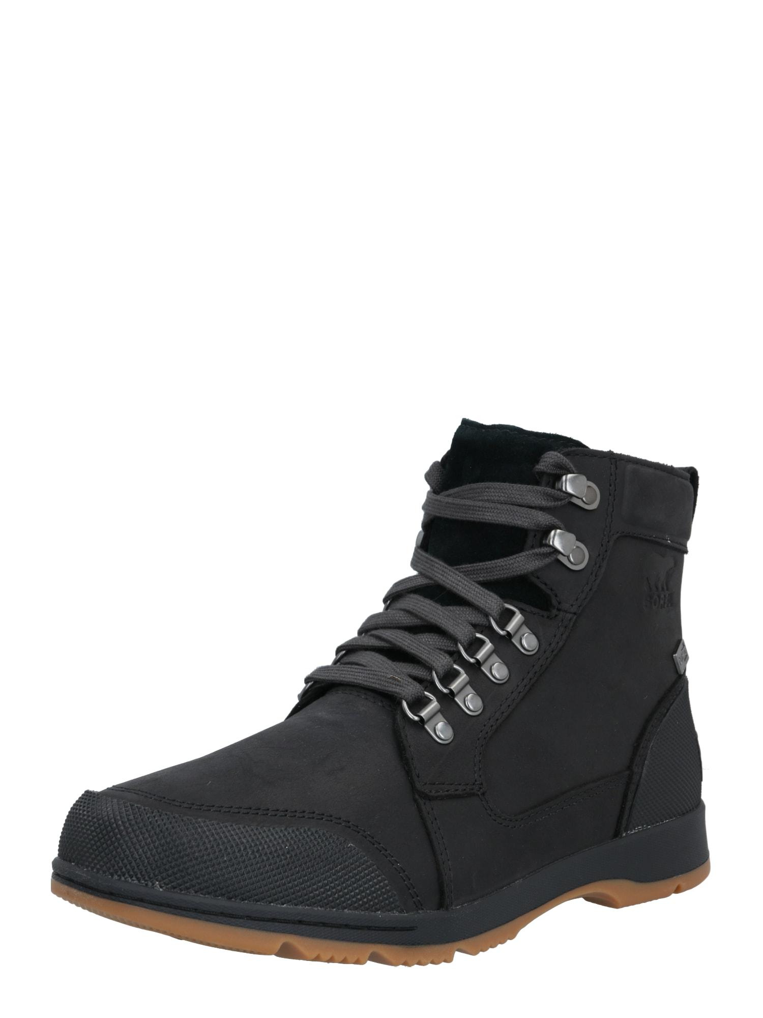SOREL Auliniai batai su raišteliais juoda