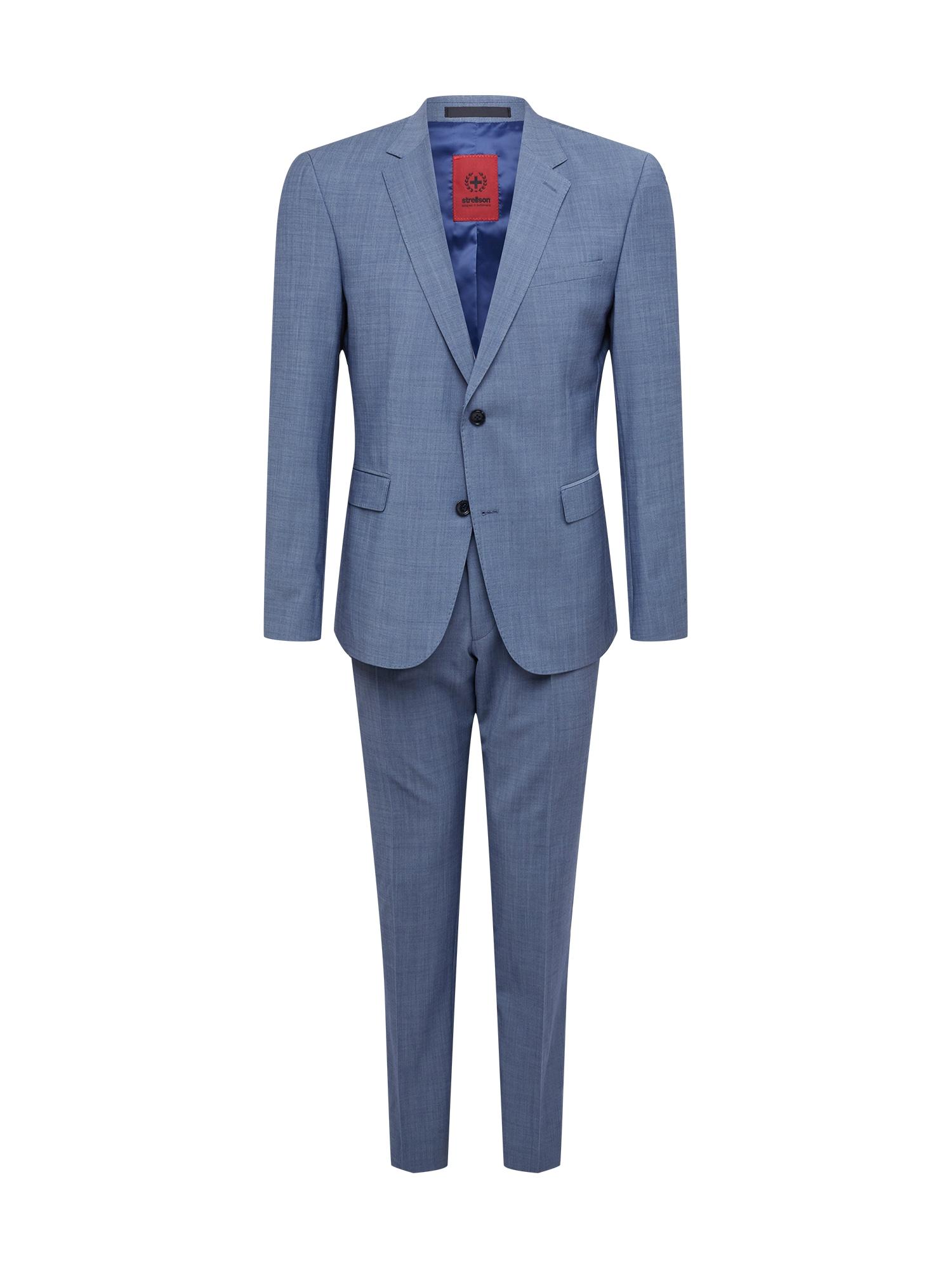 STRELLSON Kostiumas 'AIDAN-MAX' mėlyna dūmų spalva