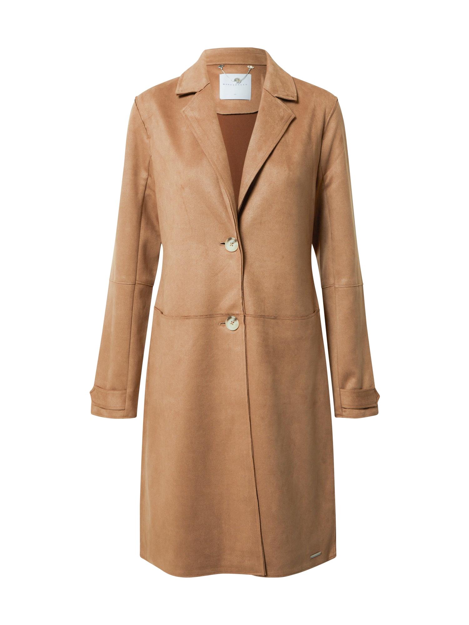 RINO & PELLE Demisezoninis paltas ruda (konjako)