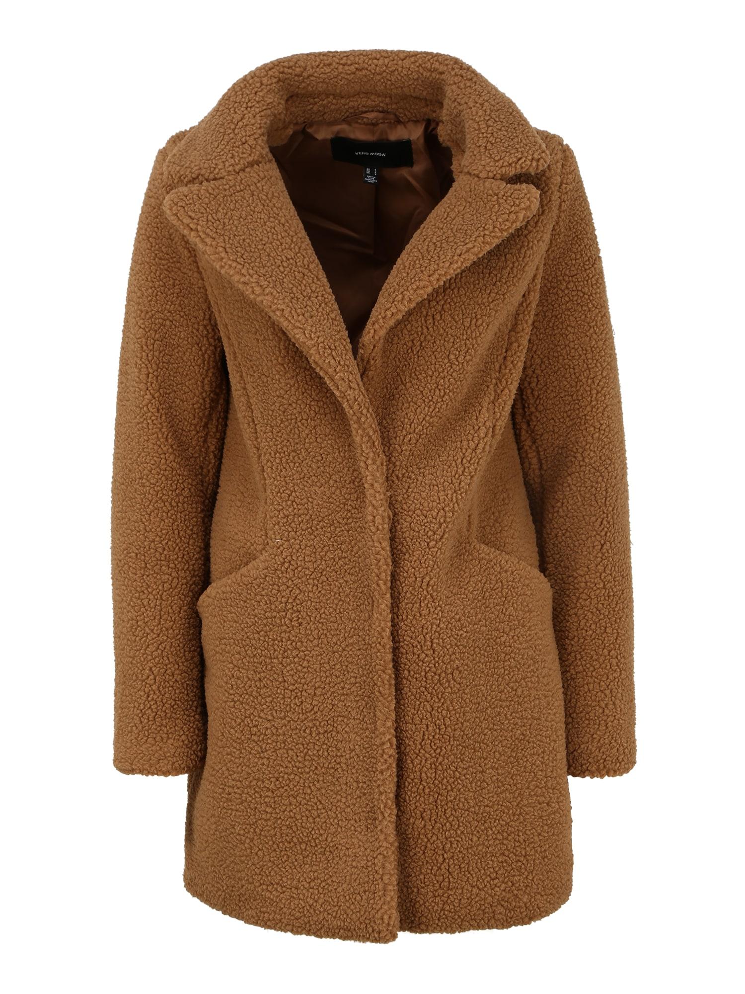 Vero Moda Tall Demisezoninis paltas ruda
