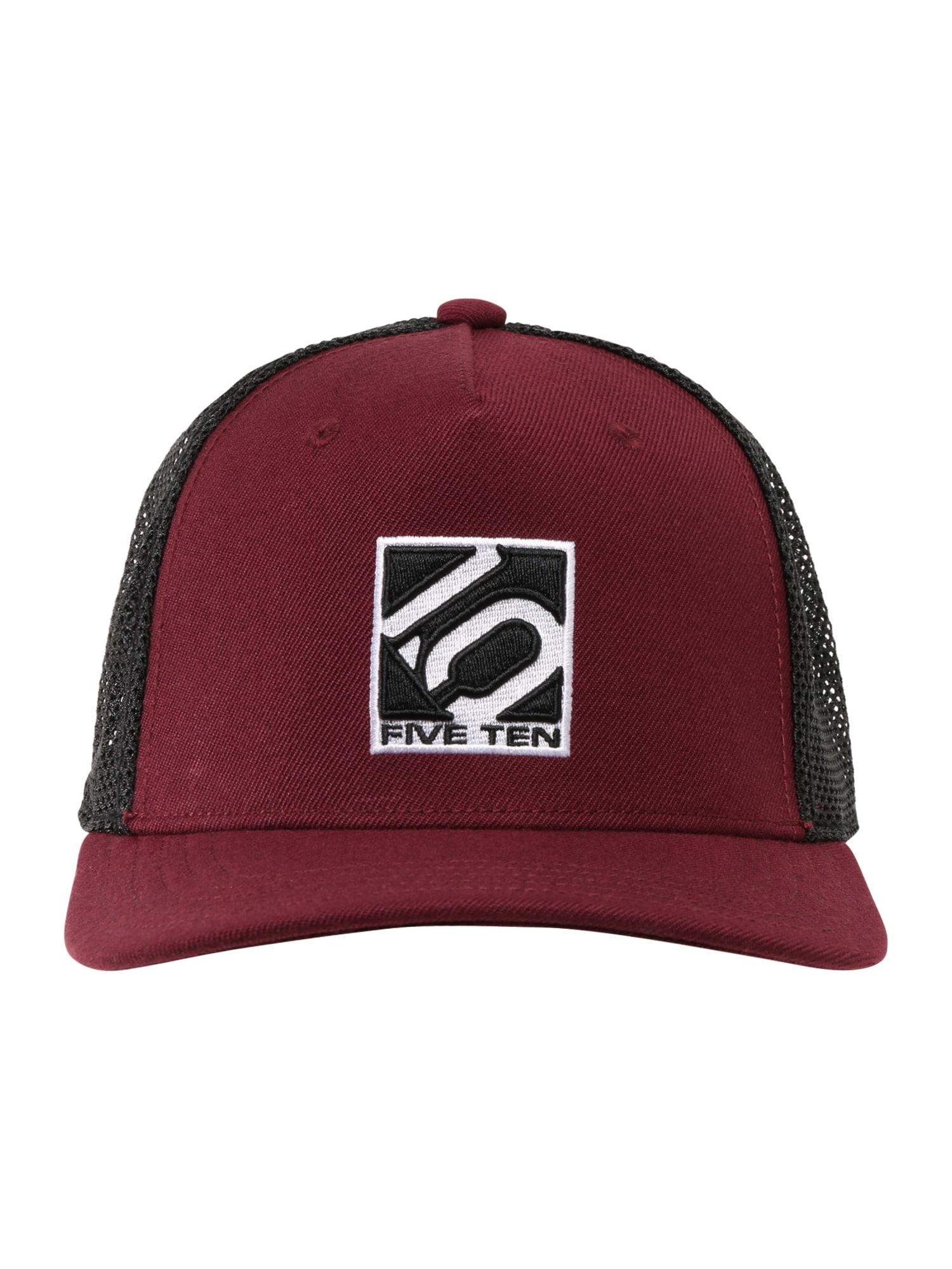 ADIDAS PERFORMANCE Sportinė kepurė rubinų raudona / juoda / balta