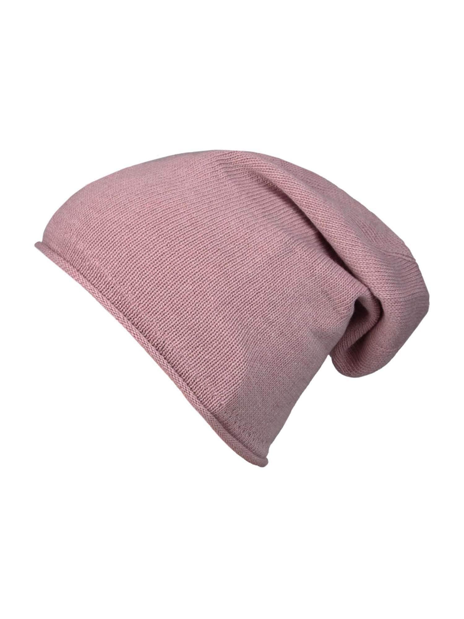 Zwillingsherz Megzta kepurė ryškiai rožinė spalva
