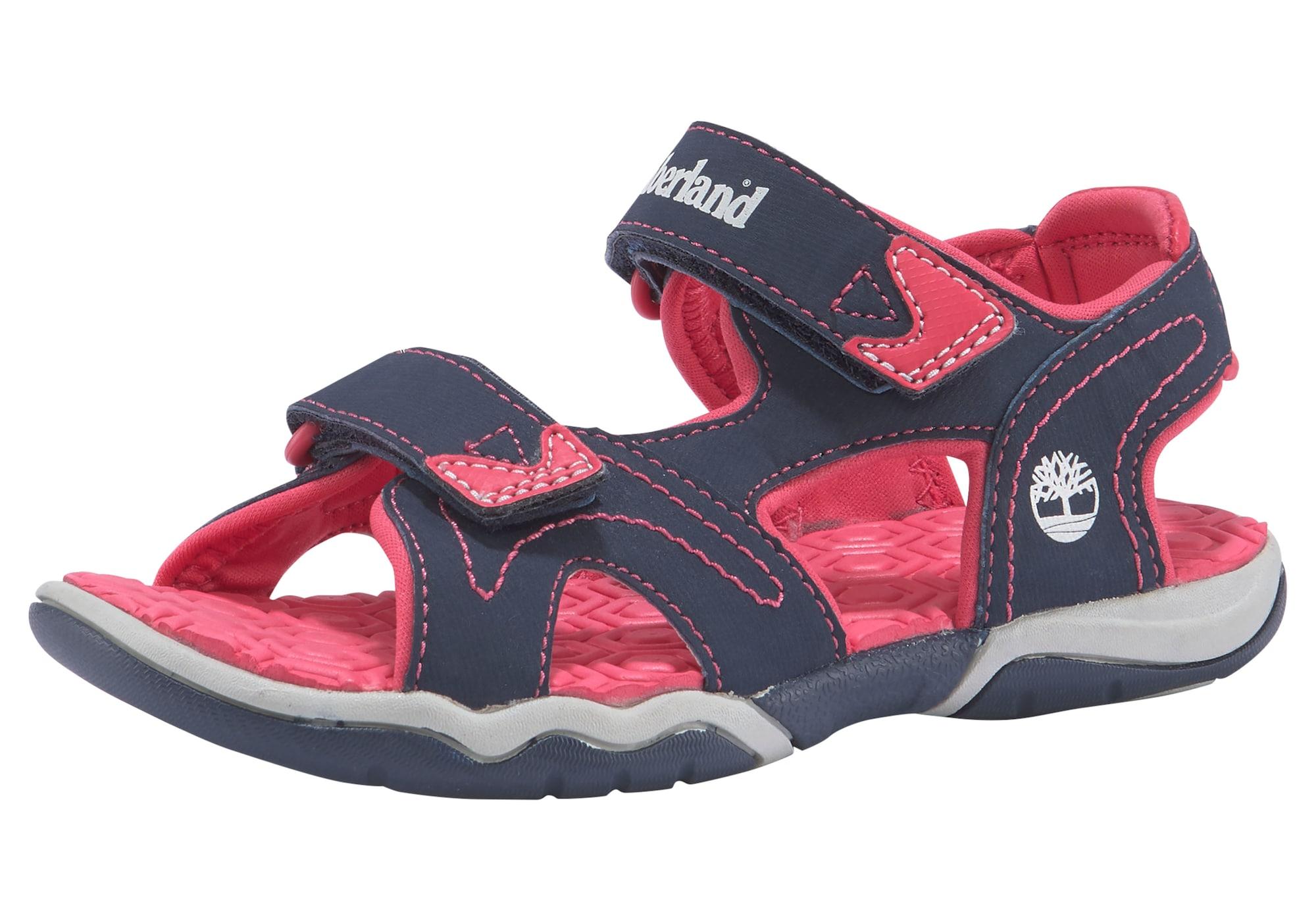 TIMBERLAND Atviri batai tamsiai mėlyna / rožinė / balta
