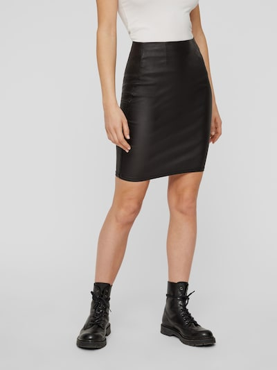 Pieces Paro High Waisted Coated Rock