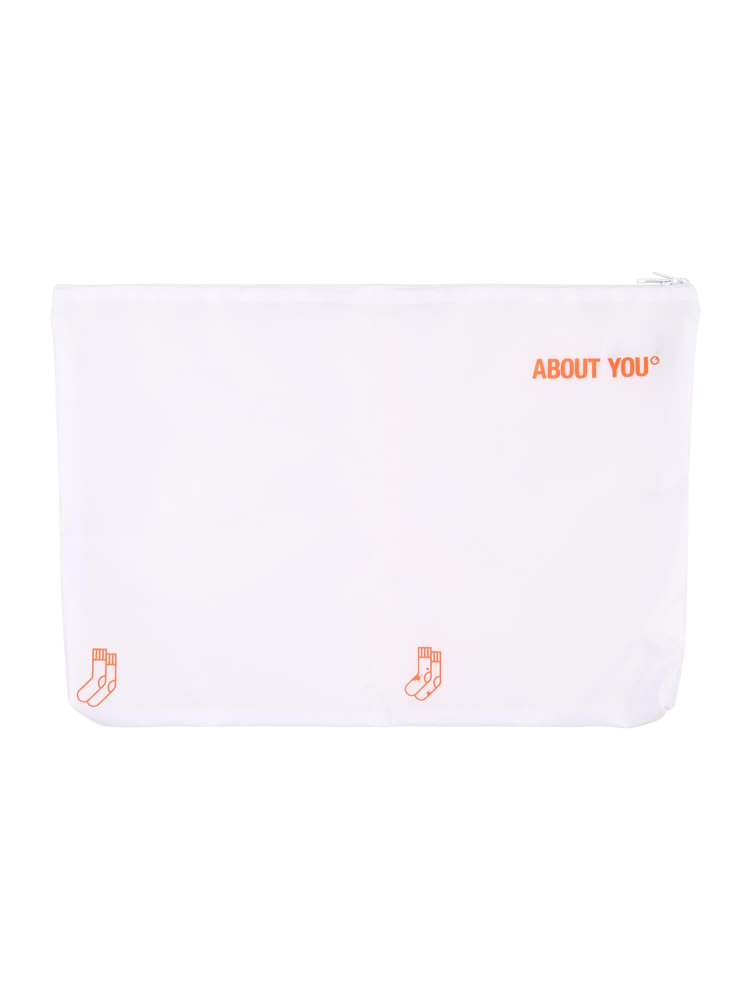 ABOUT YOU Apsauginis drabužių maišas 'Icons' balta
