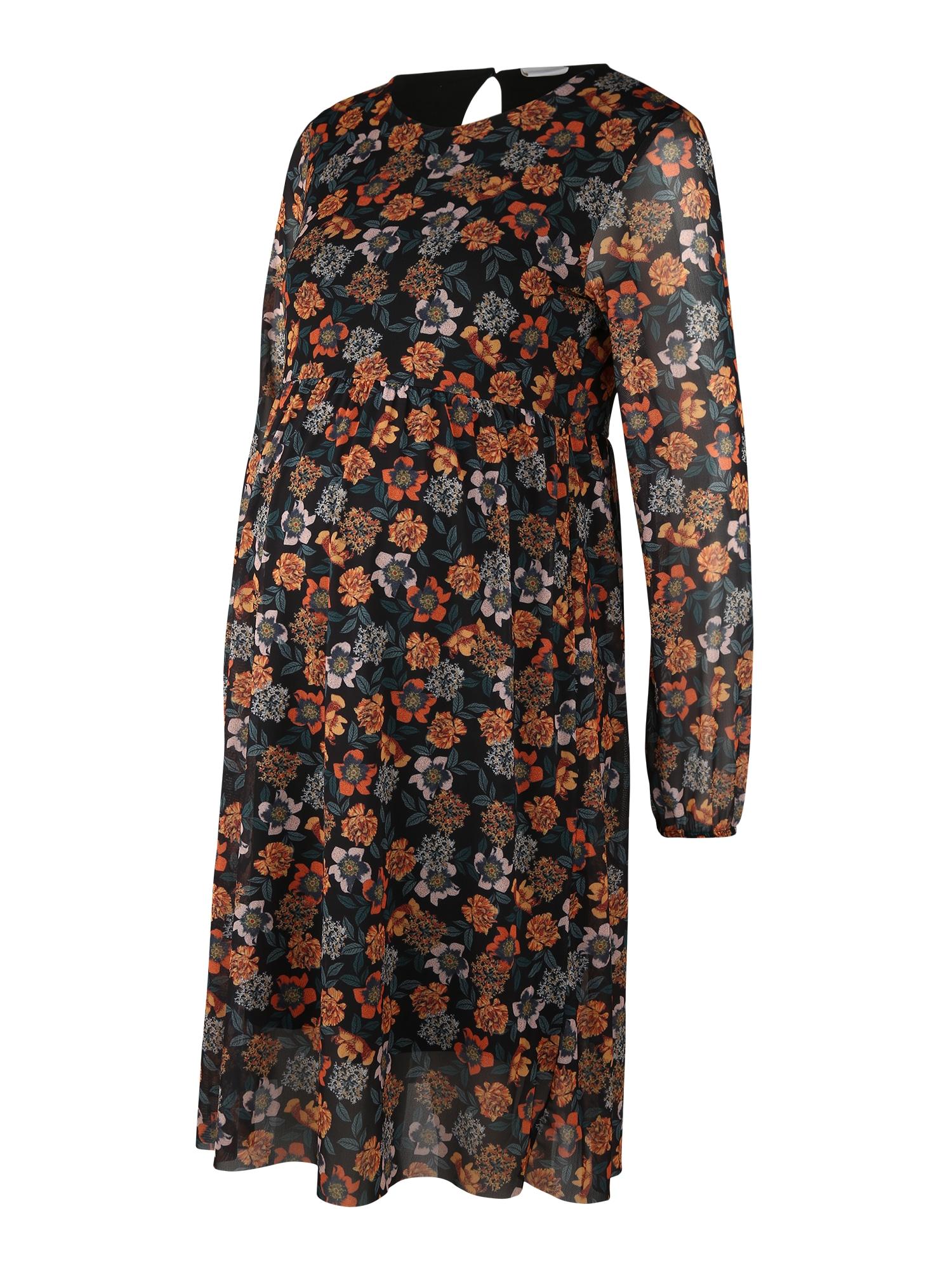 MAMALICIOUS Suknelė mišrios spalvos / juoda