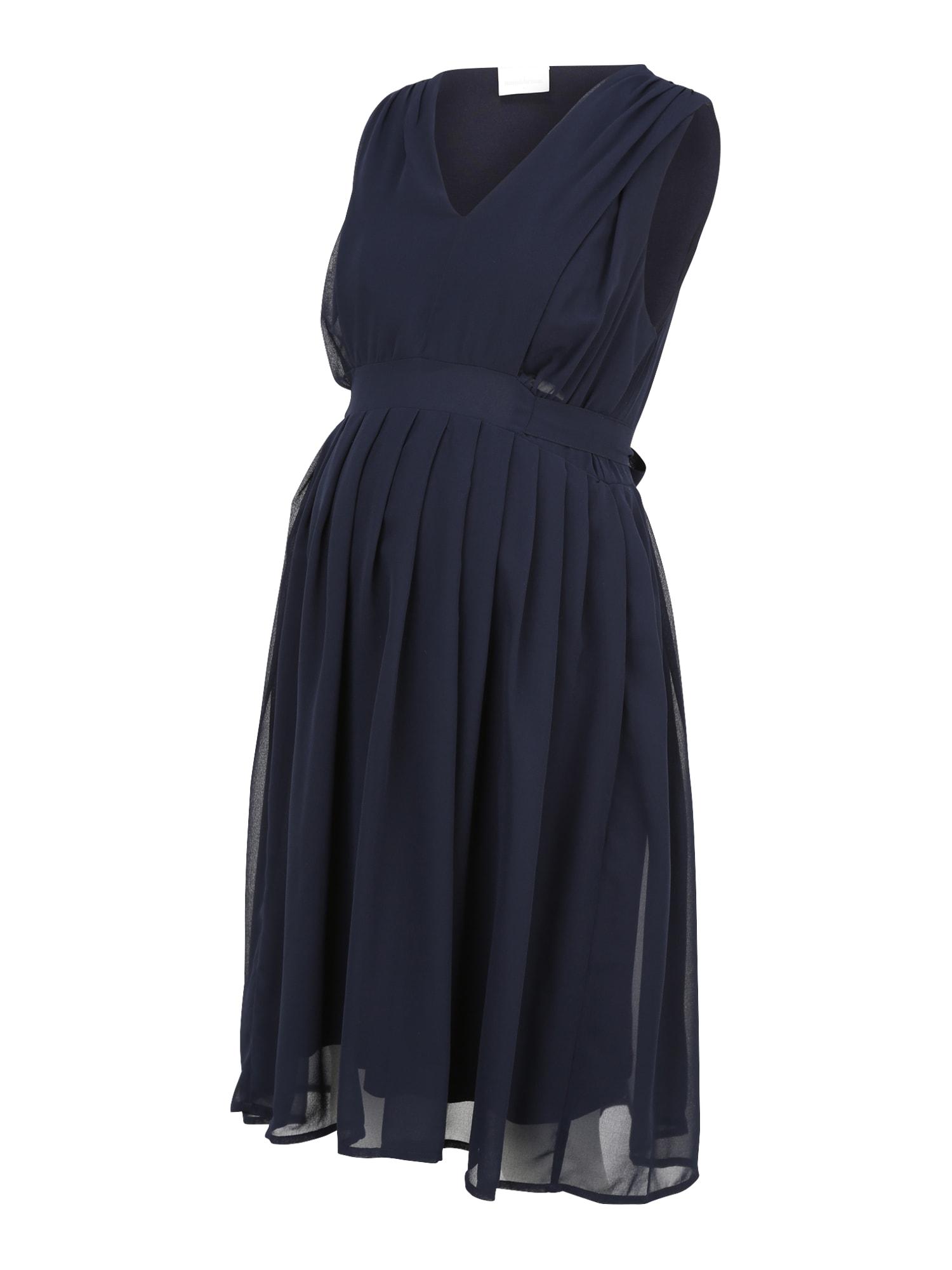 MAMALICIOUS Suknelė tamsiai mėlyna jūros spalva