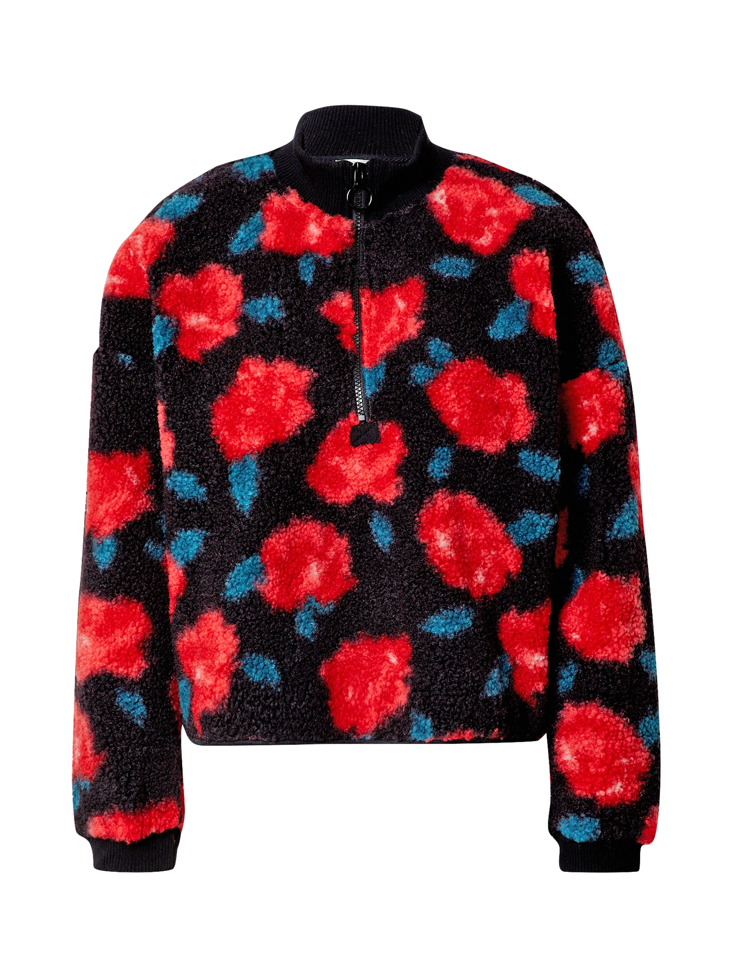 Pimkie Megztinis juoda / raudona / nefrito spalva