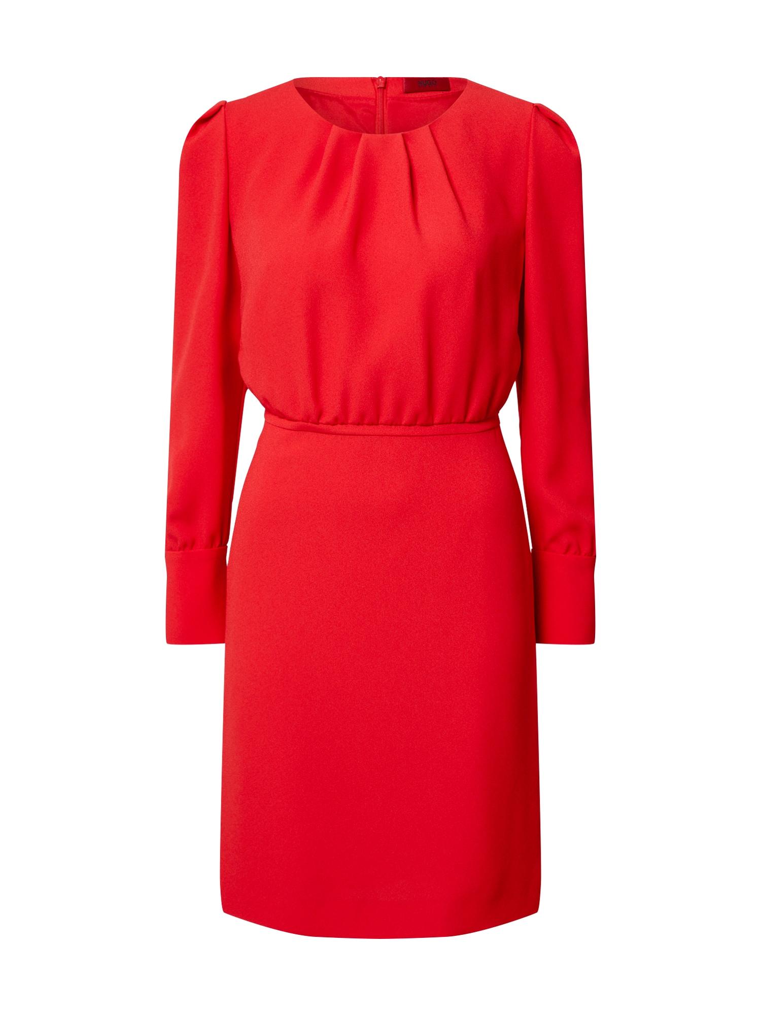 HUGO Šaty 'Kavani'  červená