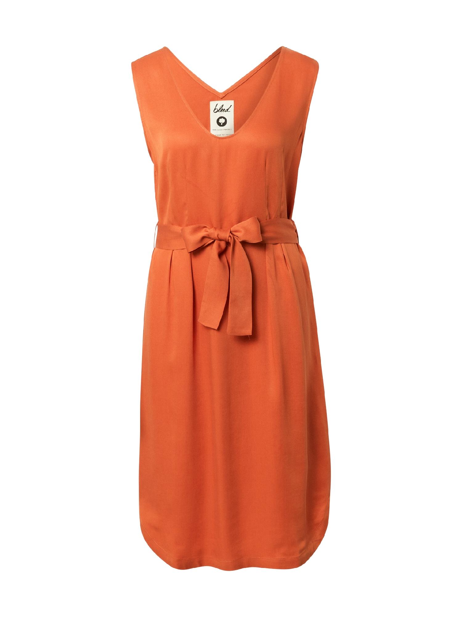 bleed clothing Suknelė oranžinė
