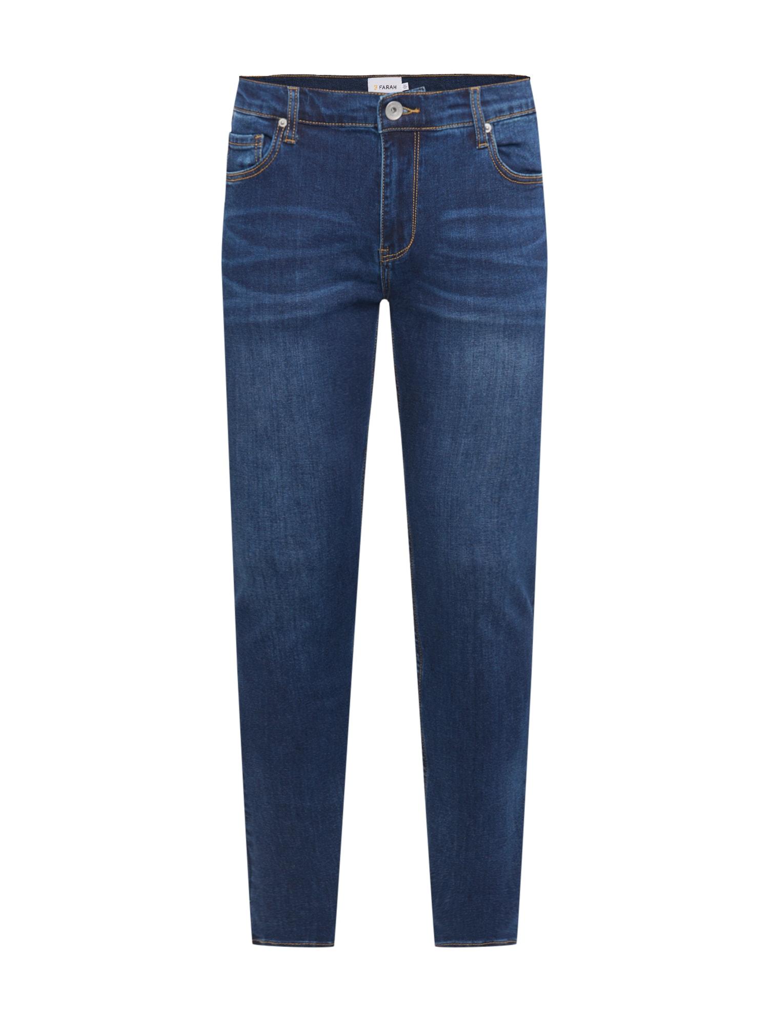 FARAH Džinsai tamsiai (džinso) mėlyna