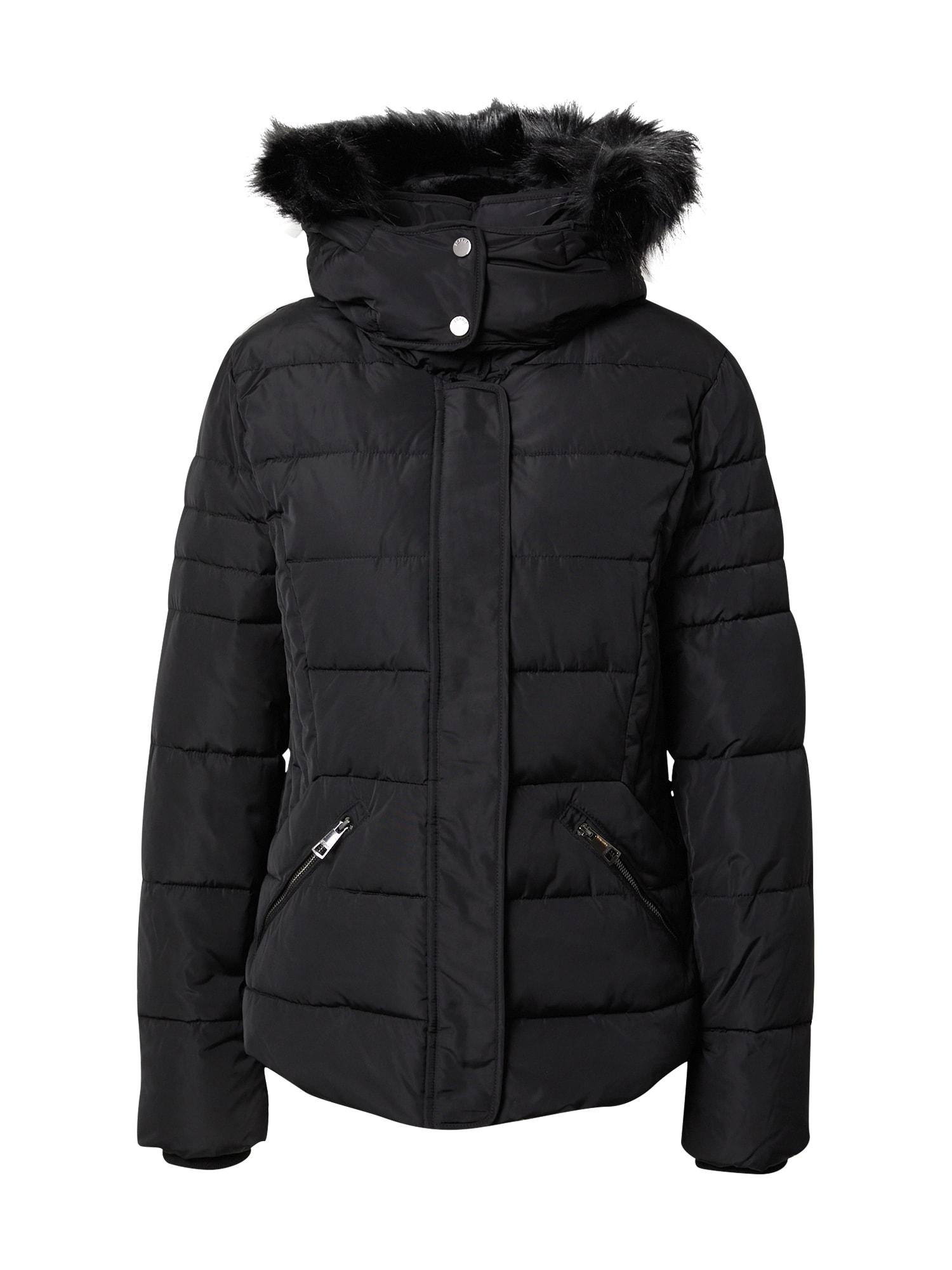 ESPRIT Zimní bunda  černá