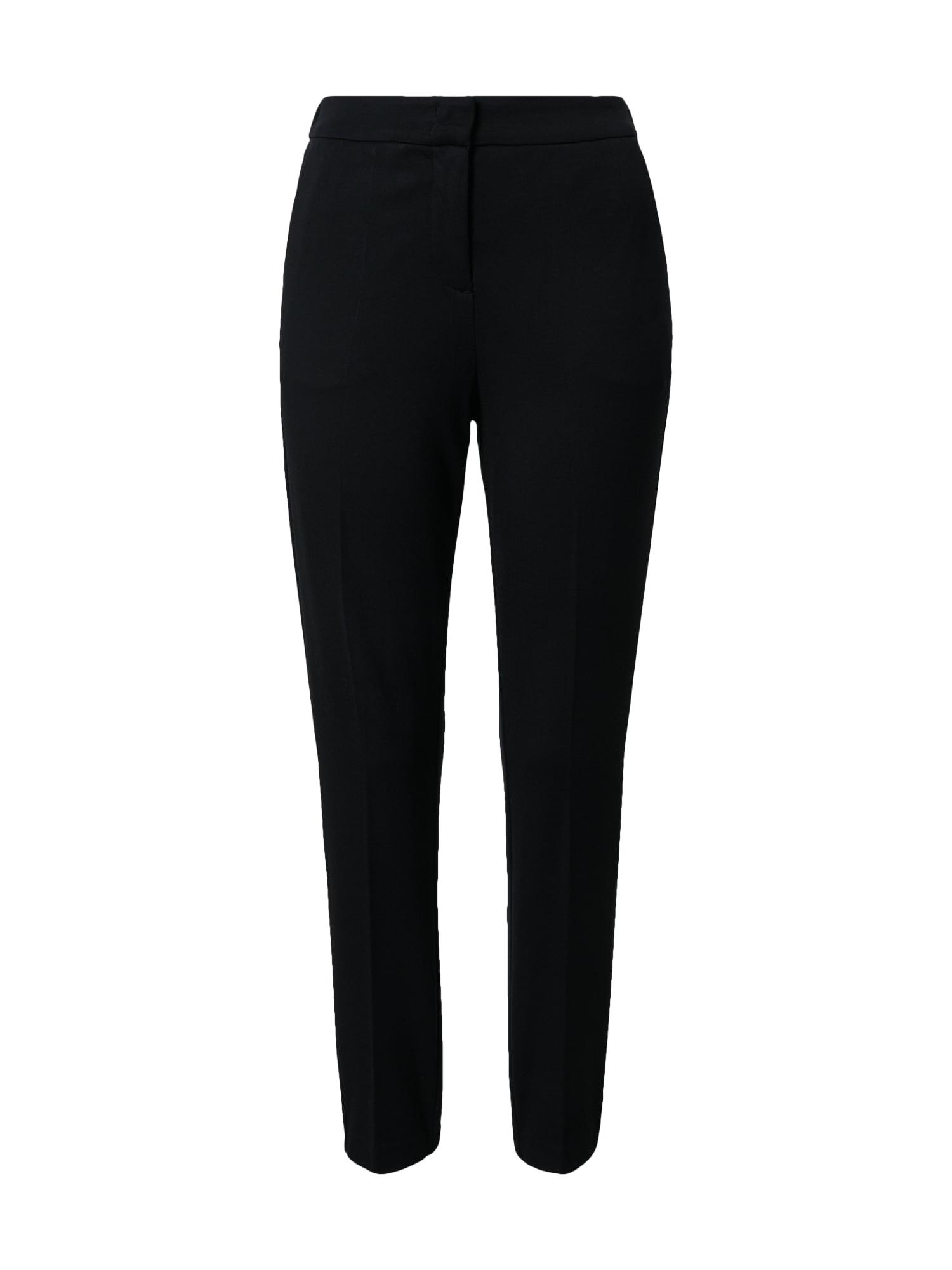 MINE TO FIVE Kelnės su kantu juoda
