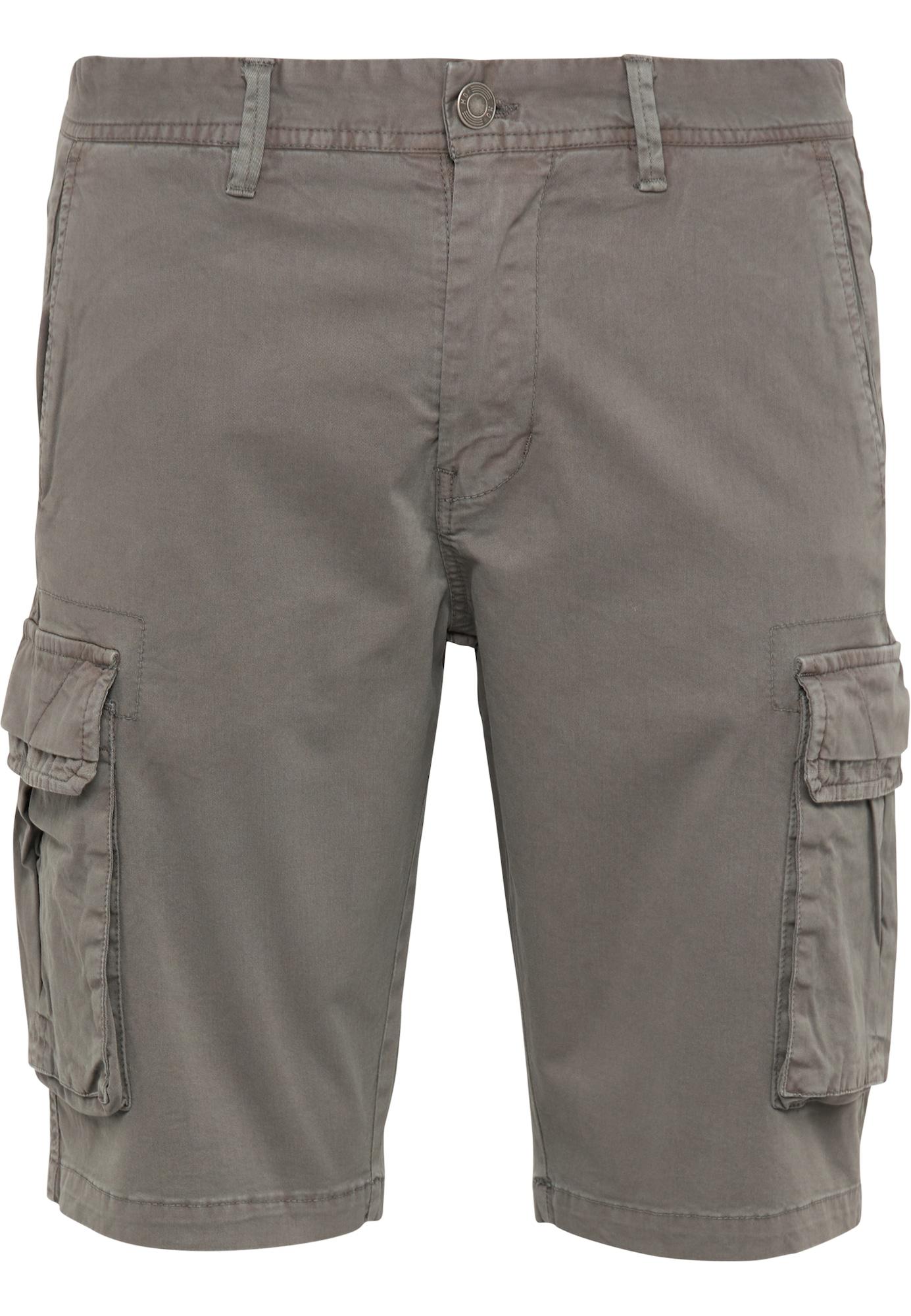 MO Laisvo stiliaus kelnės rusvai žalia