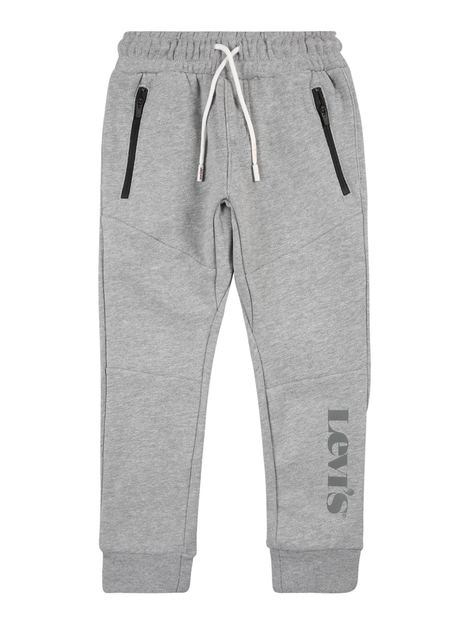 LEVI'S Kalhoty  šedý melír / černá / tmavě šedá