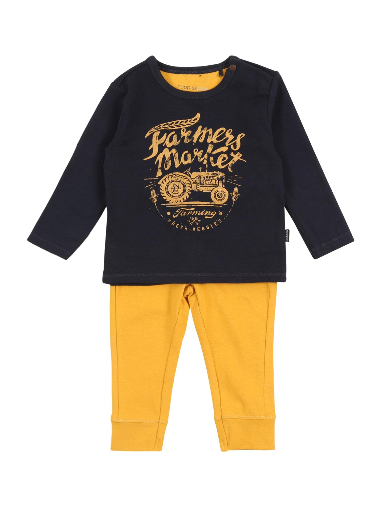 Noppies Rinkinys 'Flagstaff' tamsiai mėlyna / aukso geltonumo spalva