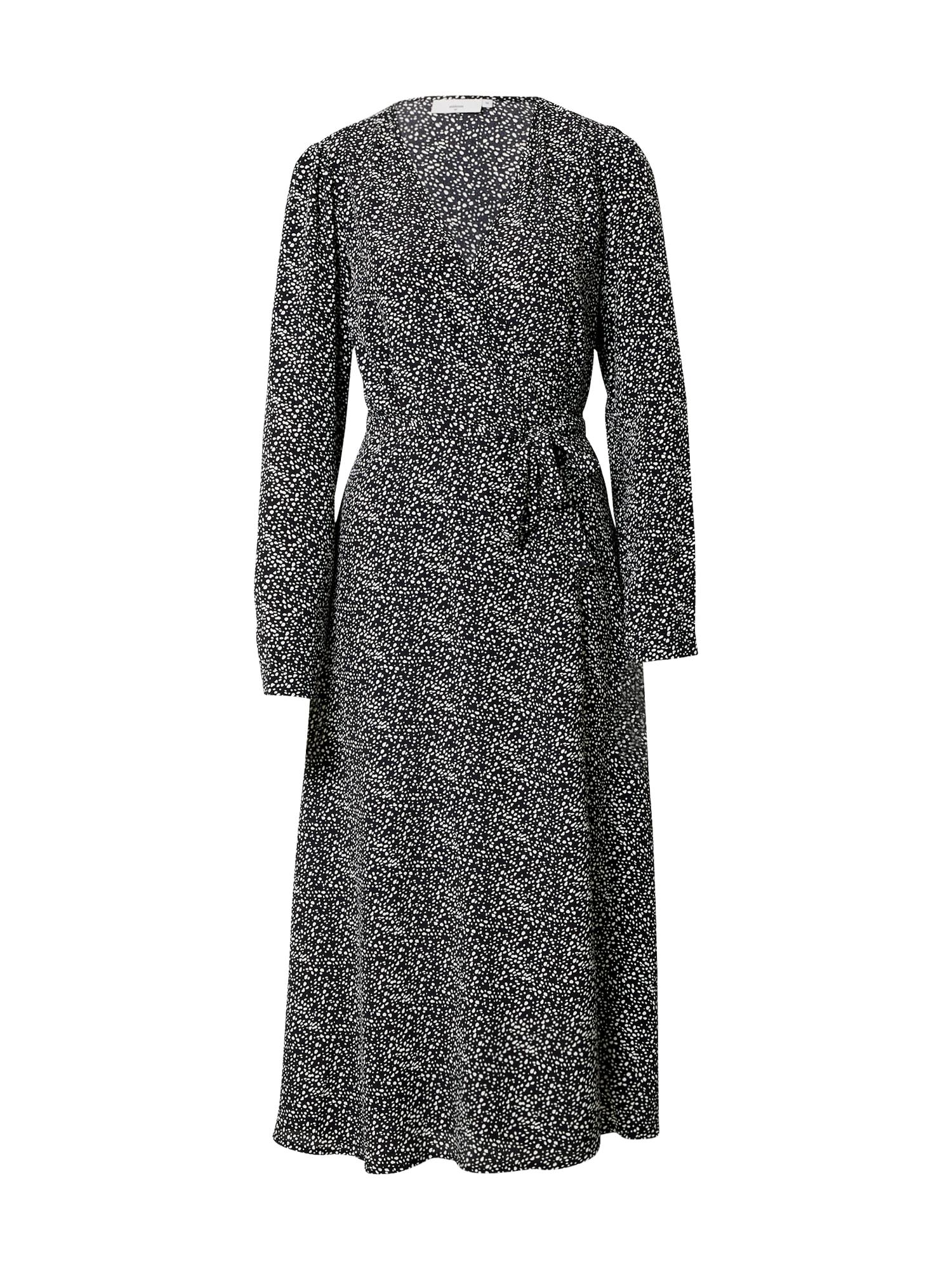 minimum Suknelė juoda / balta