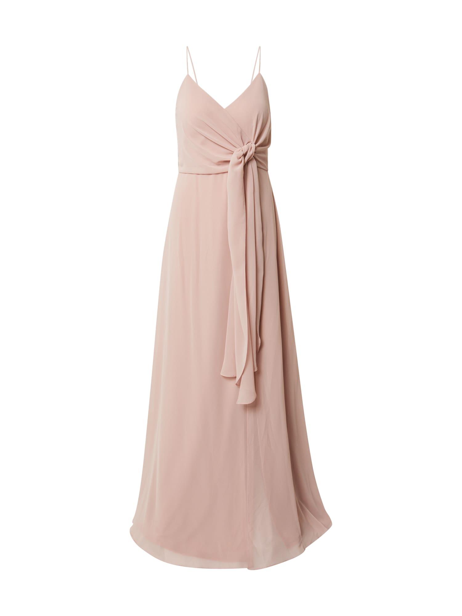 STAR NIGHT Vakarinė suknelė pudros spalva