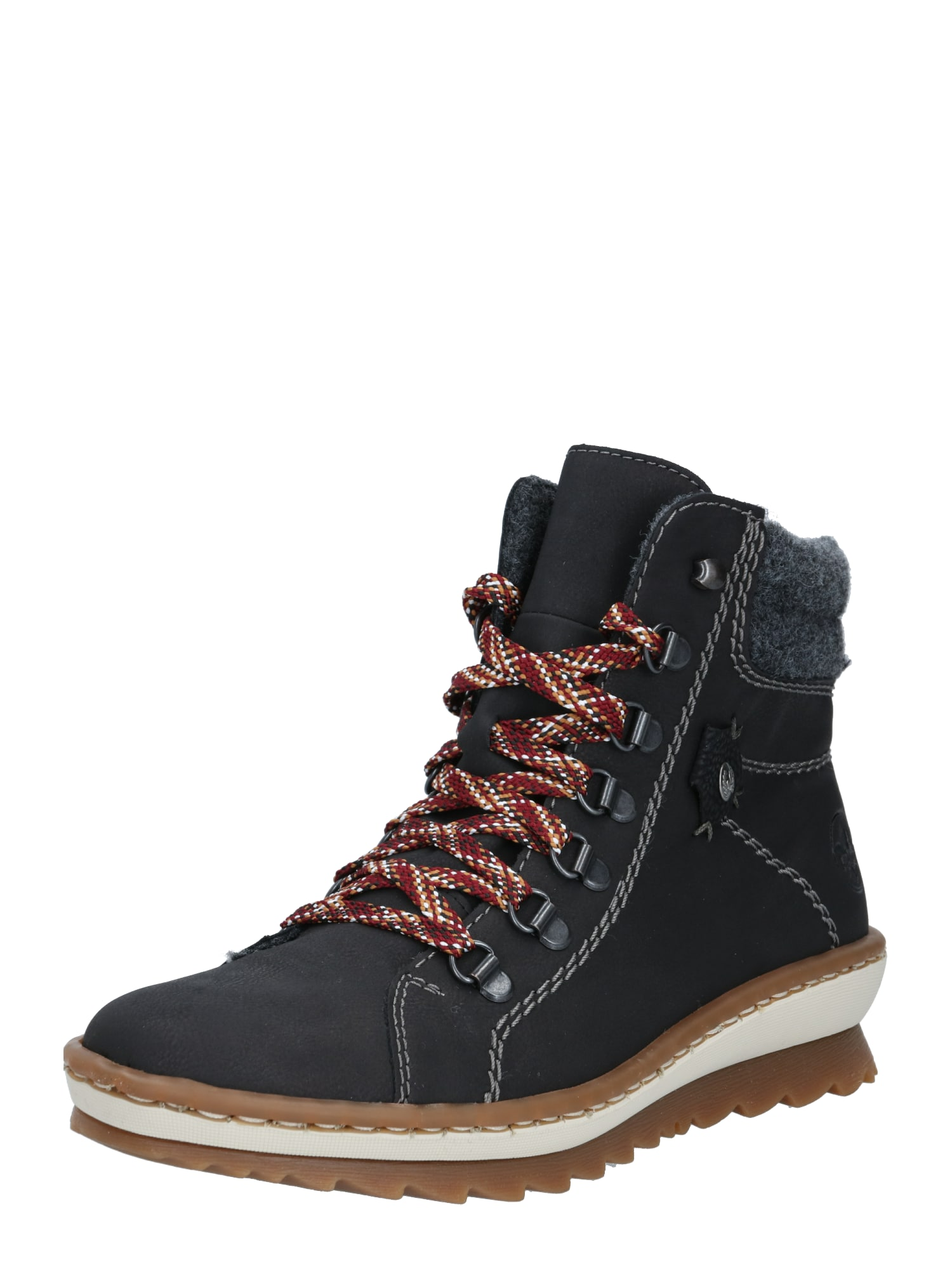 RIEKER Auliniai batai juoda